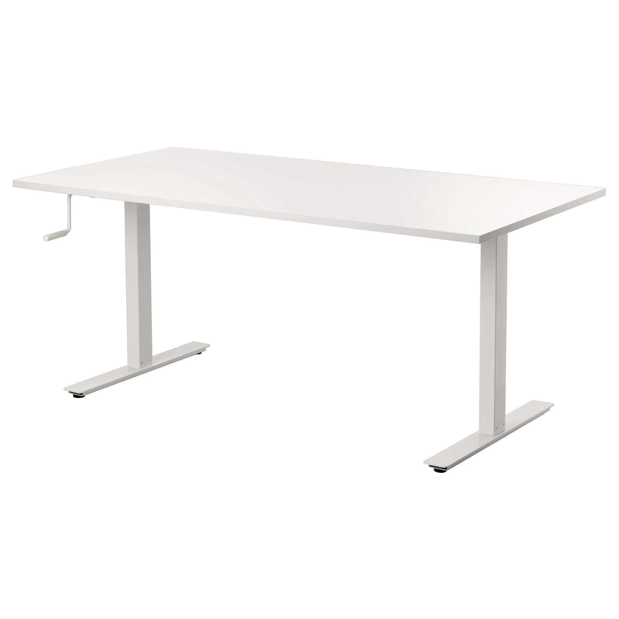 Bus Ikea Toulouse Skarsta Desk Sit Stand White