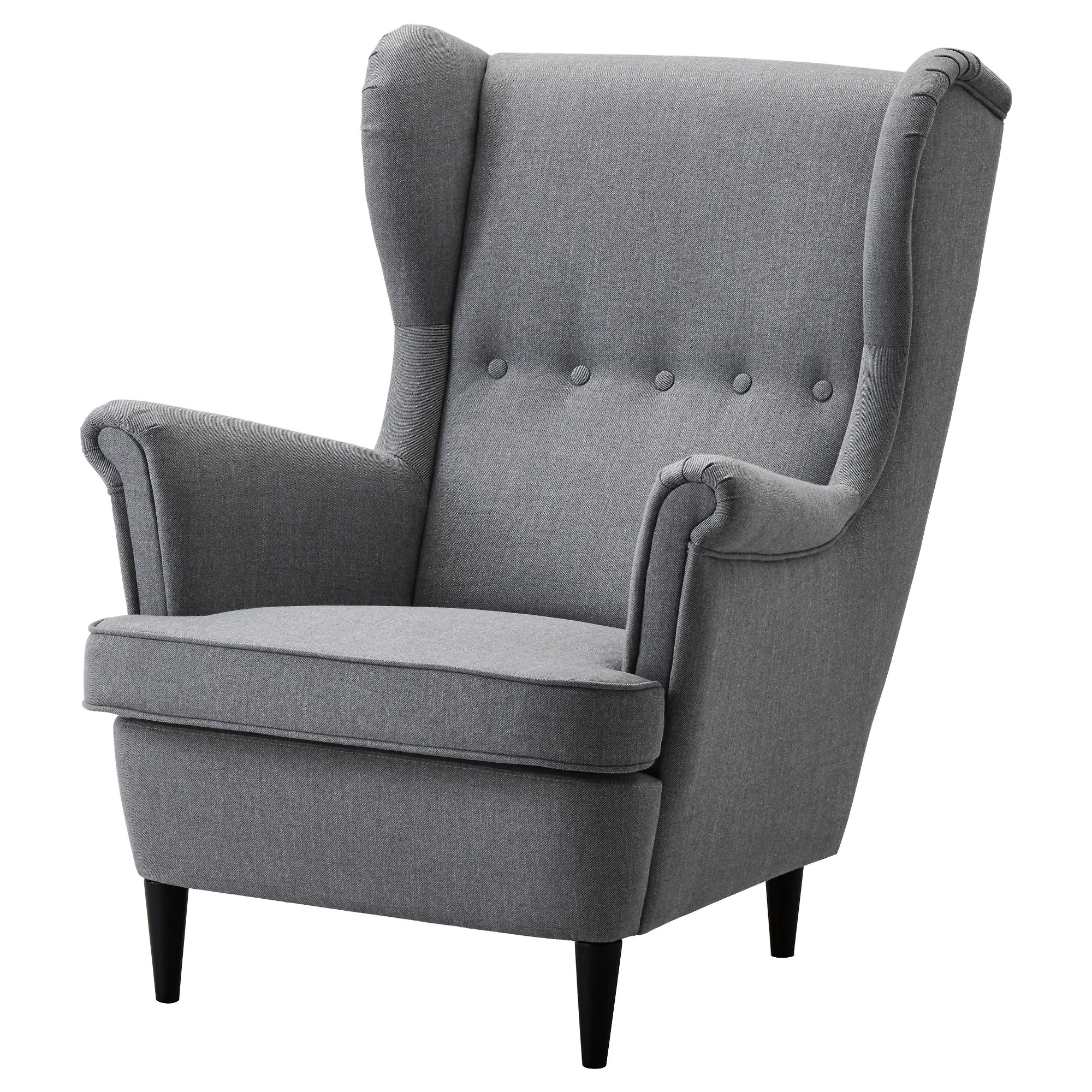 Sessel Queen Elizabeth Strandmon Wing Chair Nordvalla Dark Gray