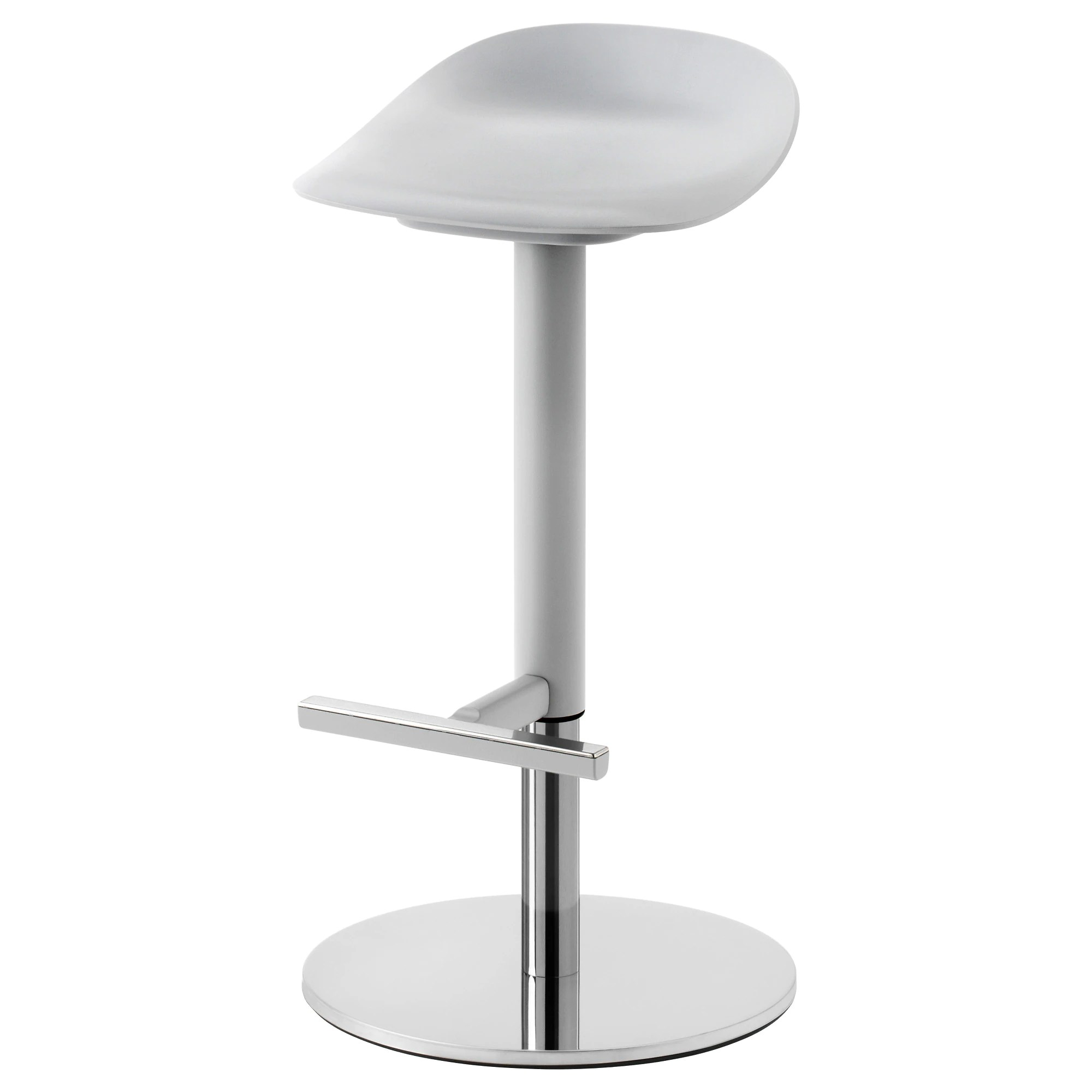 Tabourets De Bar Alu Janinge Bar Stool Grey