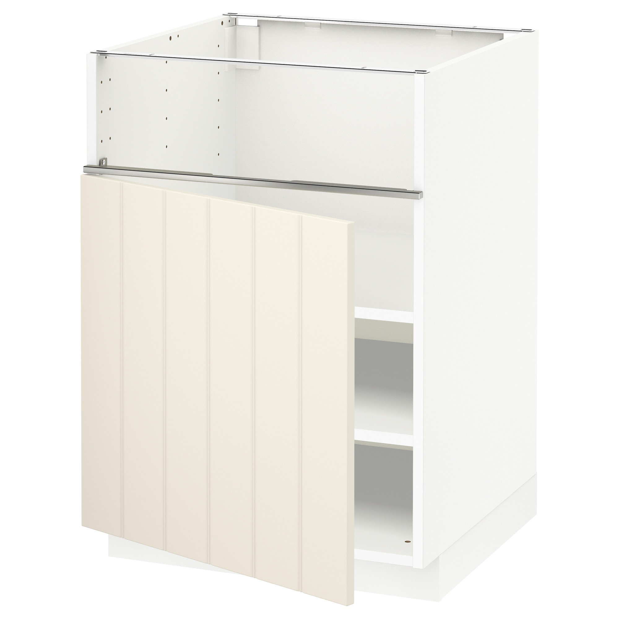 Ikea Sävedal Metod Base Cb F Hob Fish Grill Door White Sävedal White