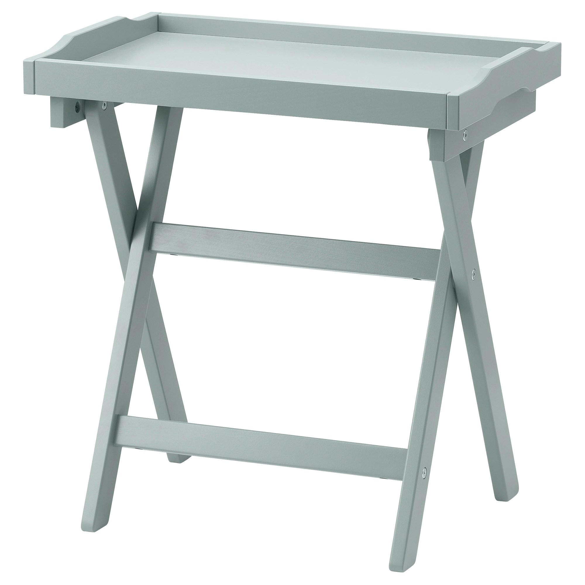 Petite Table Ikea Maryd Tray Table Gray