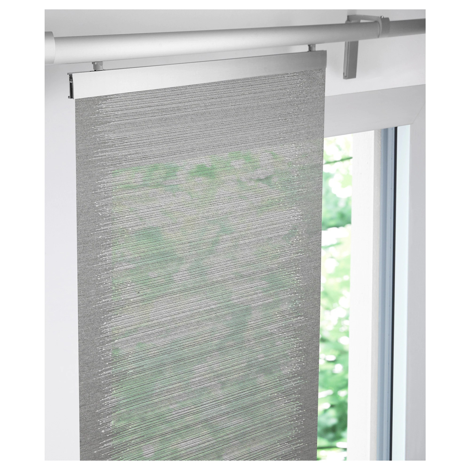 Ikea Perth Curtains Vattenax Panel Curtain Grey White
