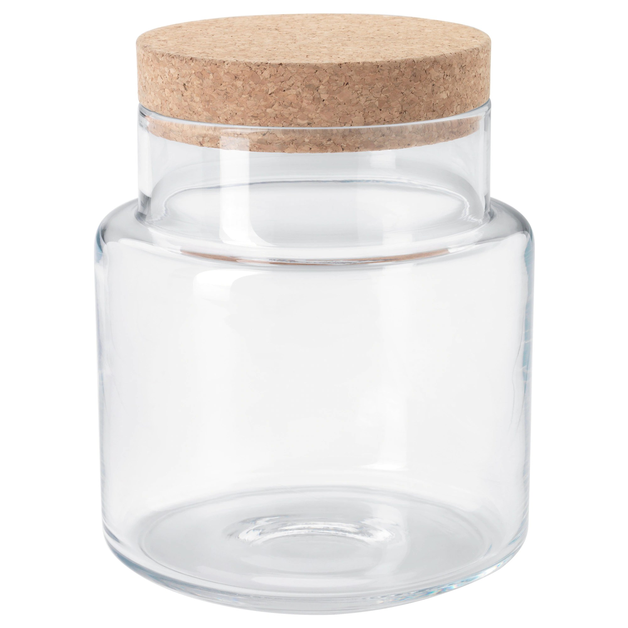 Unique Cookie Jars Sinnerlig Jar With Lid Clear Glass Cork