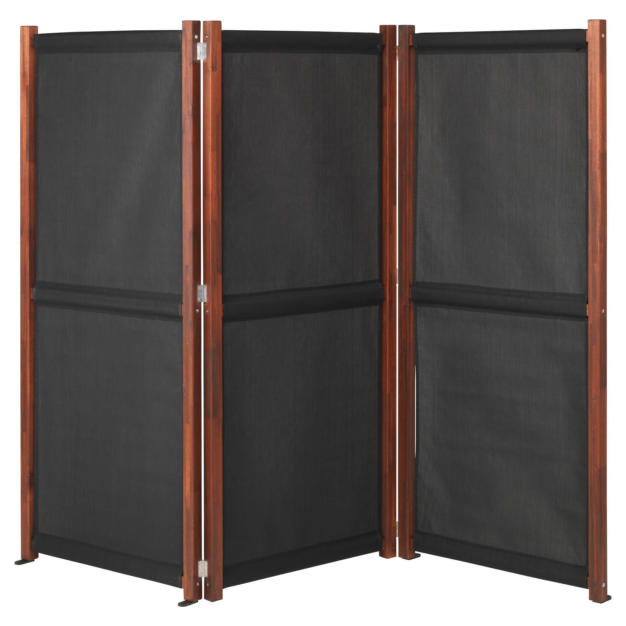 Privacy Screens Outdoor SlÄttÖ Privacy Screen Outdoor Black Brown Stained