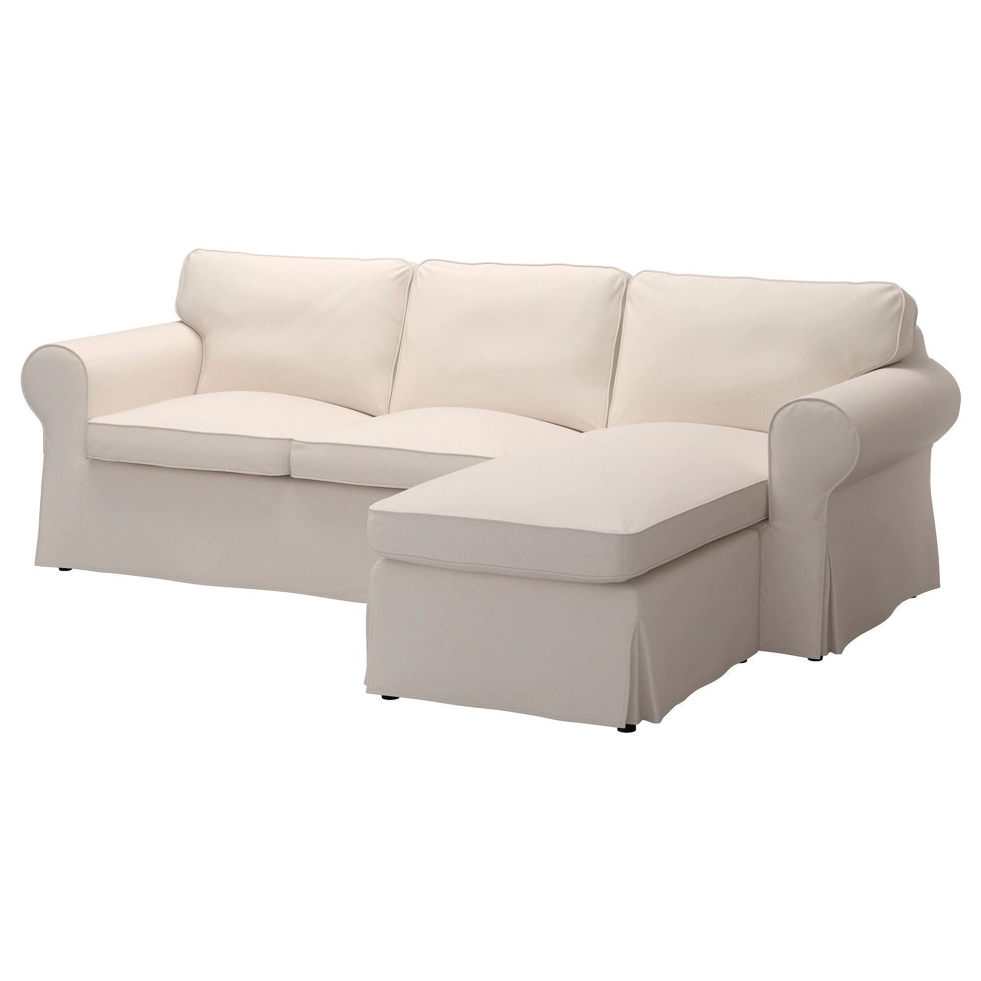 Sofa Ikea Chaise Ektorp Sofa With Chaise Lingbo Multicolor