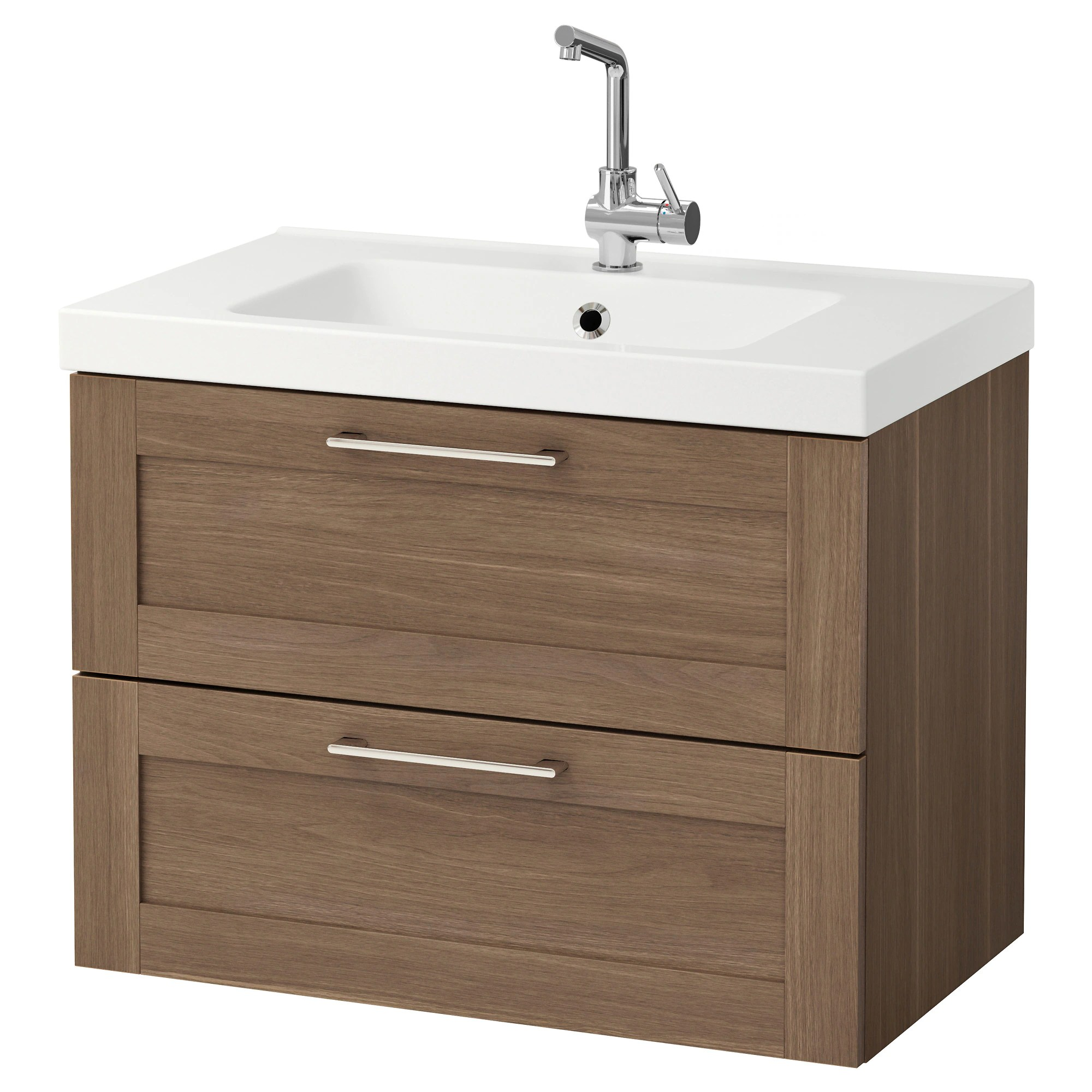 In Cabinet Drawers Godmorgon Odensvik Sink Cabinet With 2 Drawers Gray High Gloss Gray