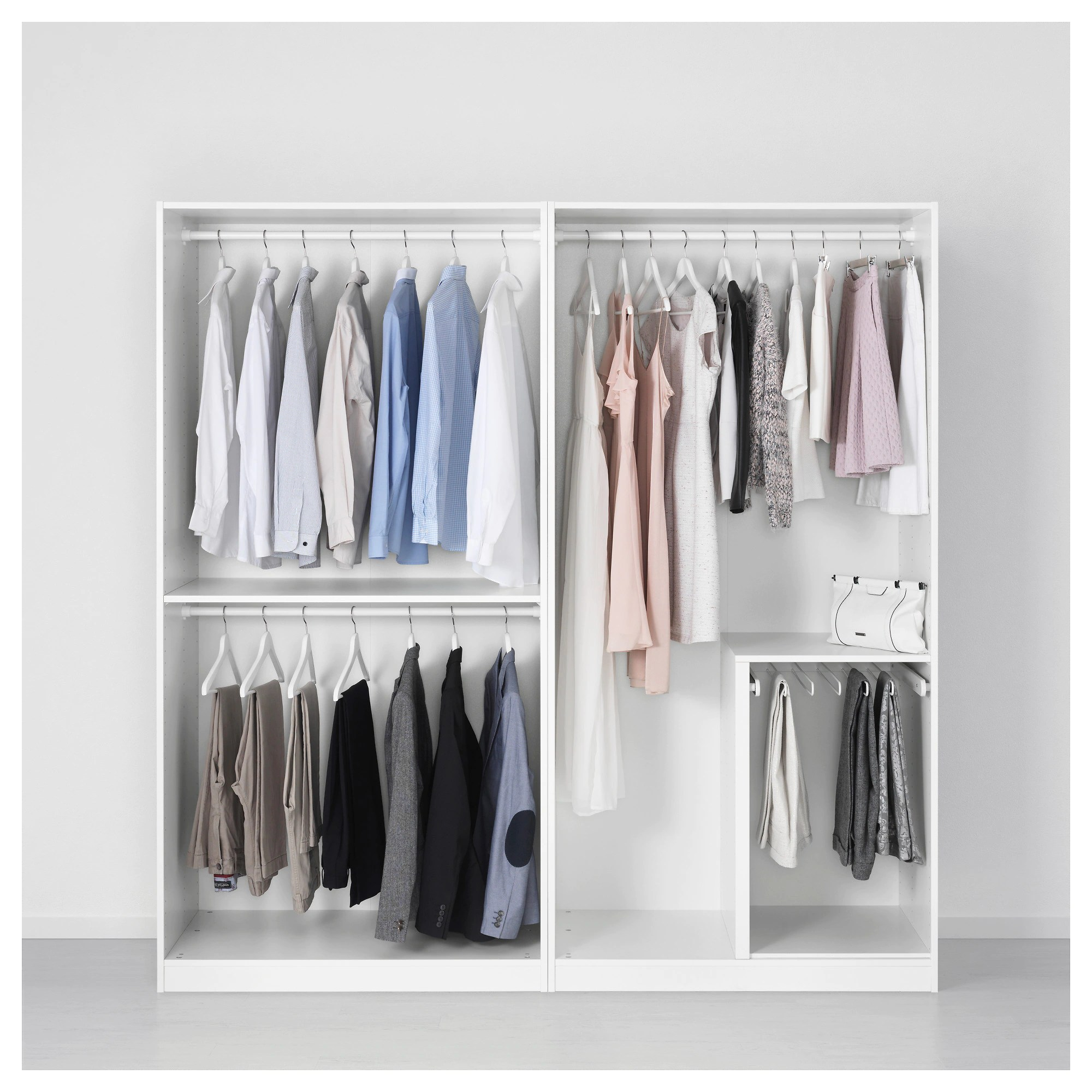 Ikea Pax Click And Collect Wardrobe Pax White