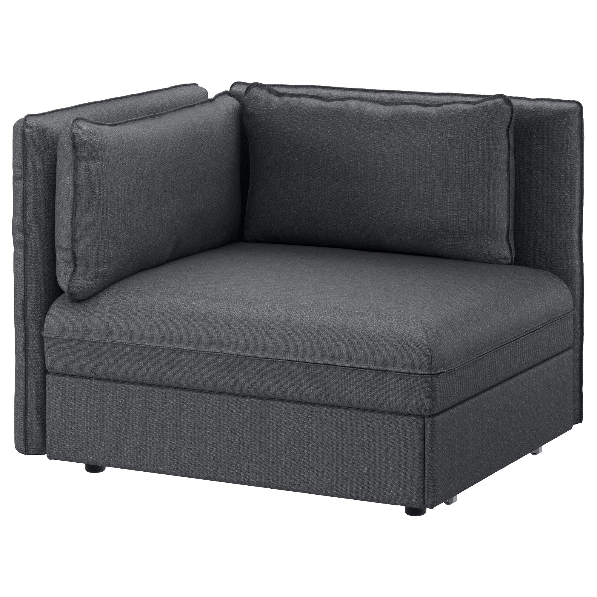 Ikea Sofa Vallentuna Erfahrung Vallentuna Sleeper Sectional 1 Seat Hillared Dark Gray