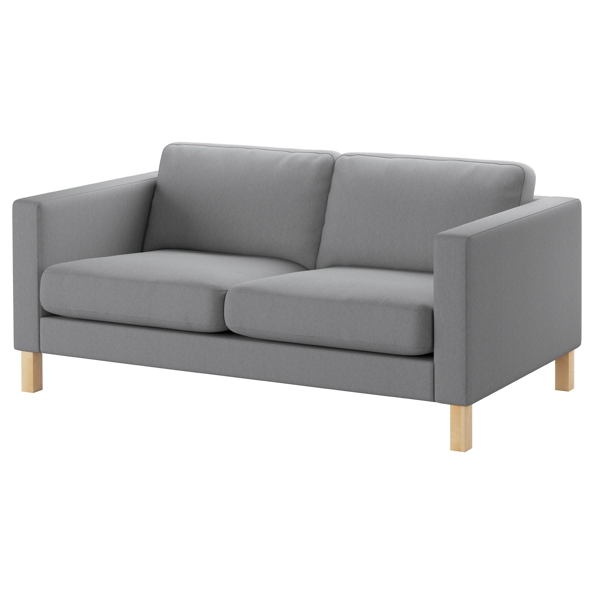 Ikea Sofa Säter Karlstad Two Seat Sofa Knisa Light Grey