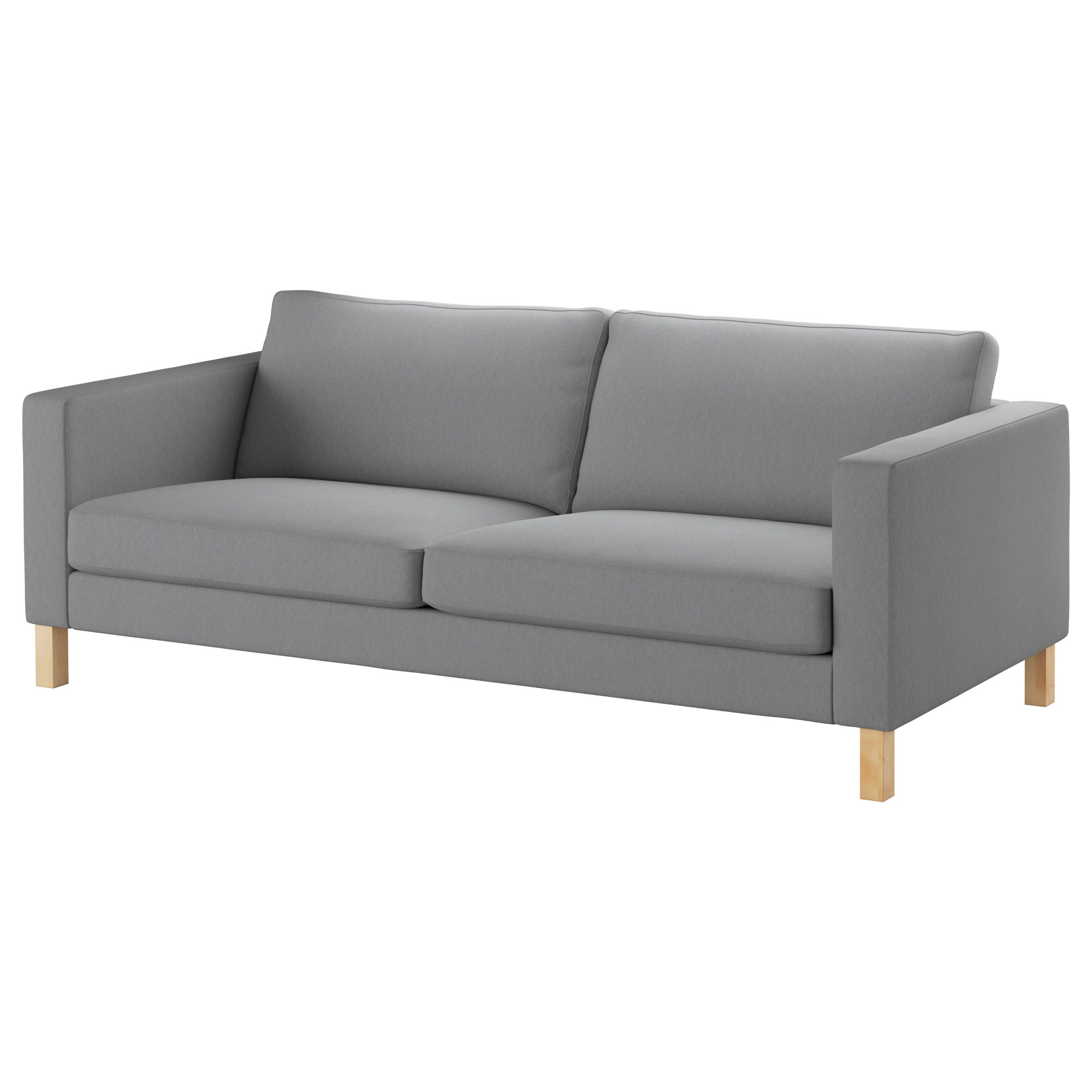 Loveseat Ikea Karlstad Sofa Knisa Light Gray
