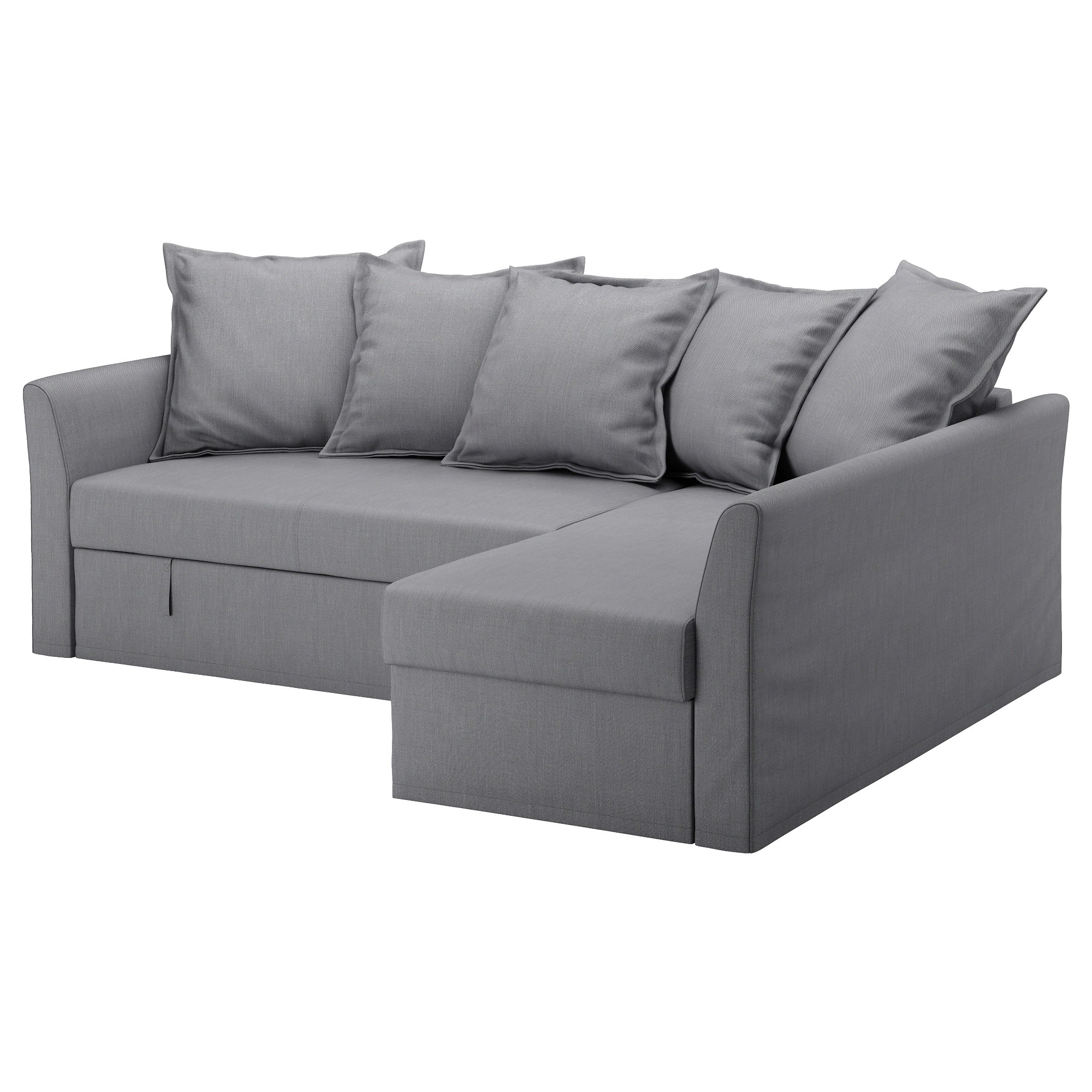 Ikea Sofa Bed Holmsund Corner Sofa Bed Nordvalla Medium Gray