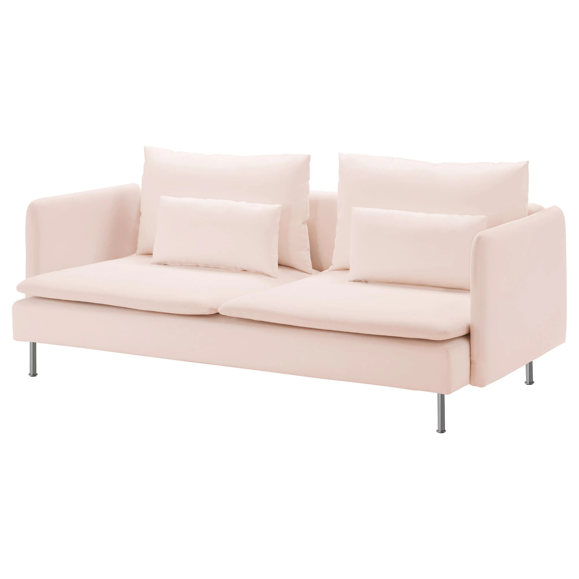 Sofa Ikea SÖderhamn Sofa Samsta Light Pink