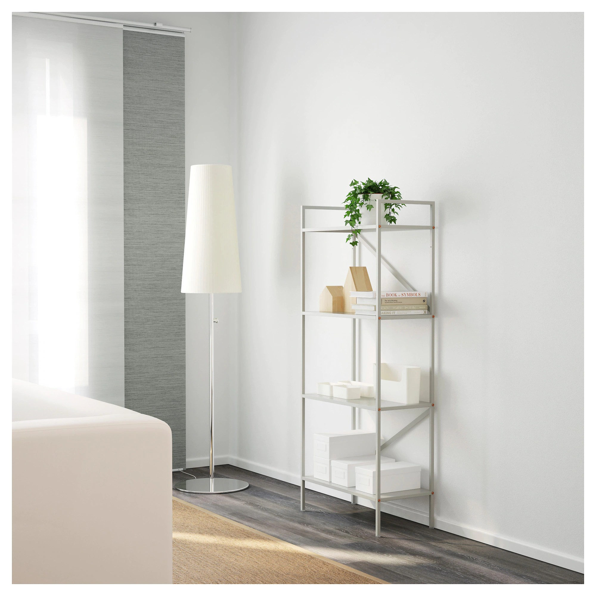 Etagere Rose Ikea Draget Shelf Unit Light Gray