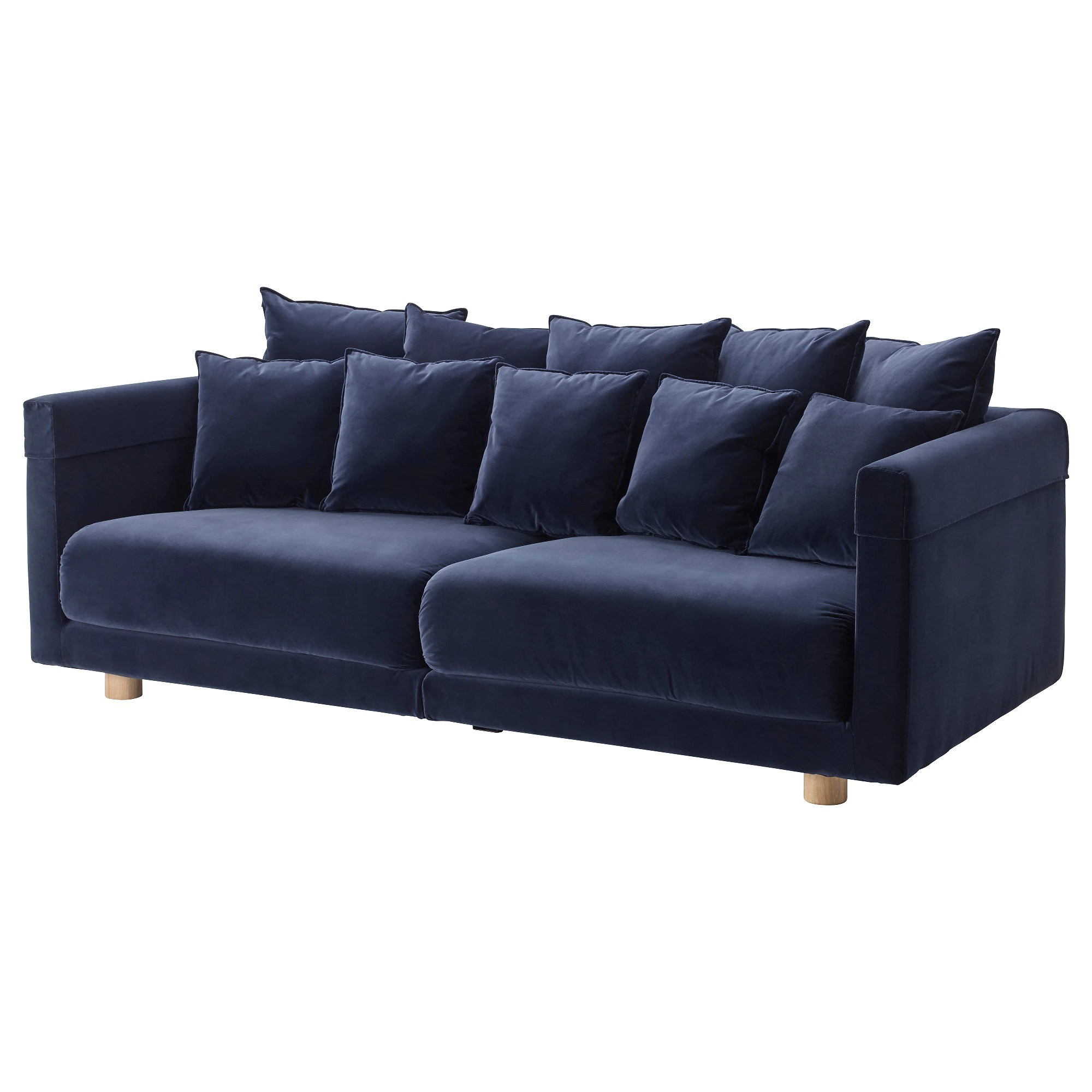 Couches In Ikea Sofa Stockholm 2017 Sandbacka Dark Blue