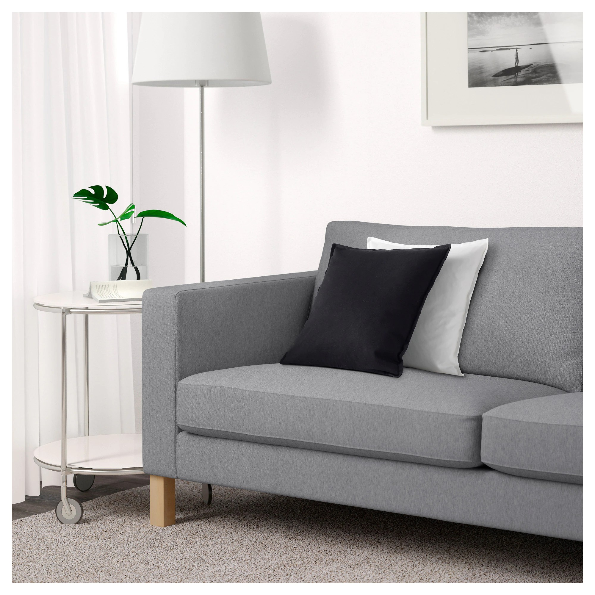 Next Sofa Measurements Karlstad Sofa Knisa Light Gray