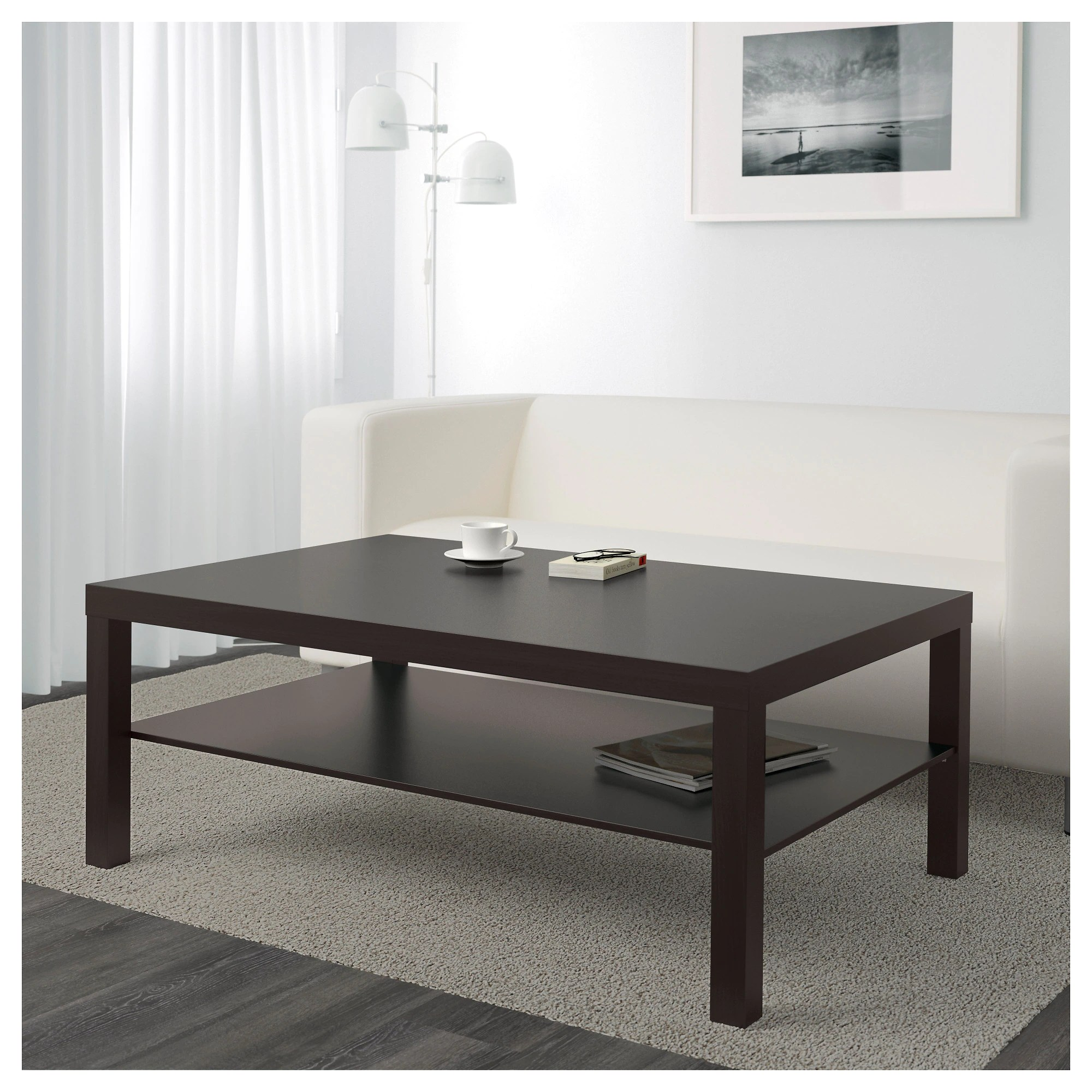 Lack Couchtisch Ikea Coffee Table Lack Black Brown