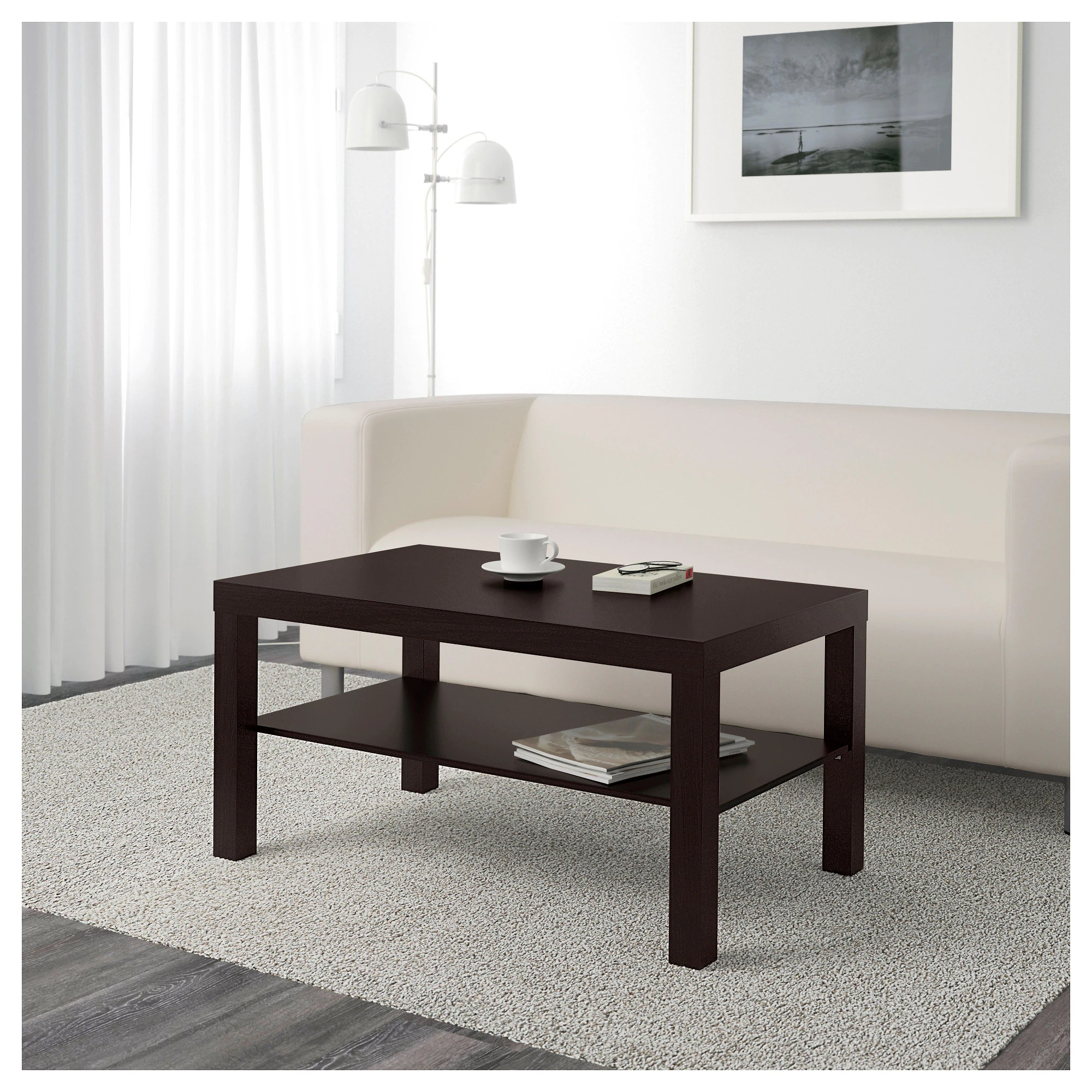 Ikea Table Basse Noir Lack Coffee Table White