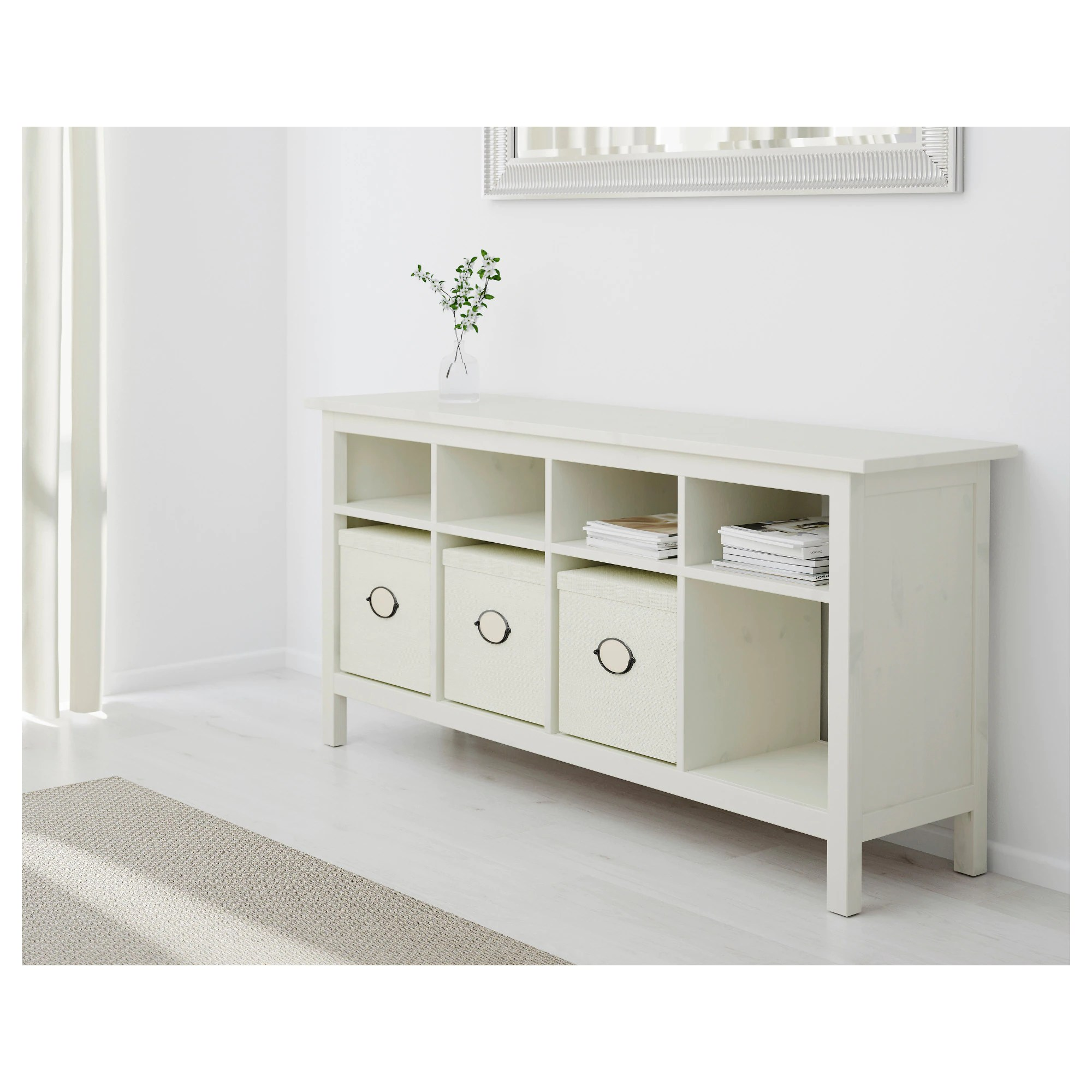 Table Console Ikea Hemnes Console Table White Stain