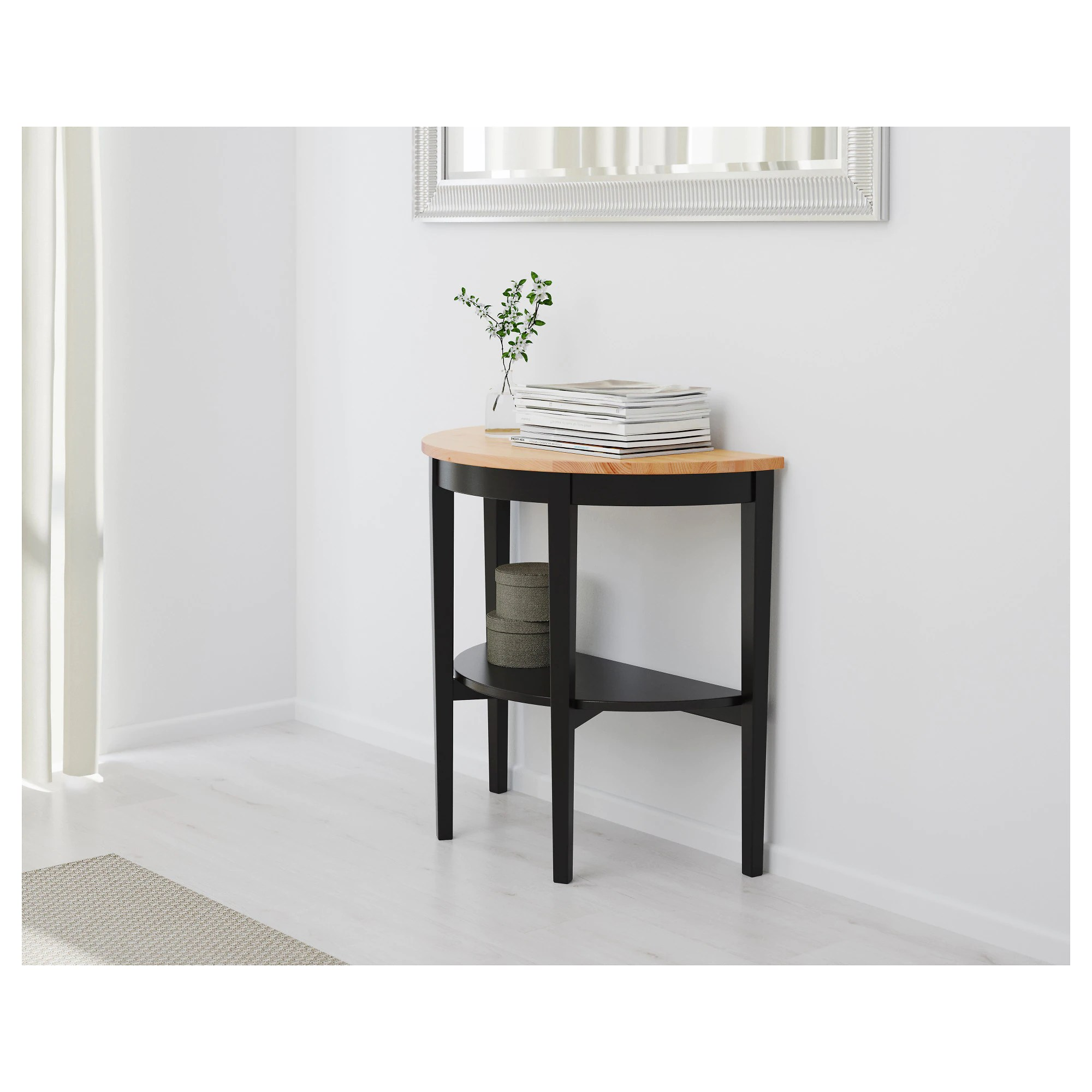 Table Console Pliante Ikea Arkelstorp Console Table Black
