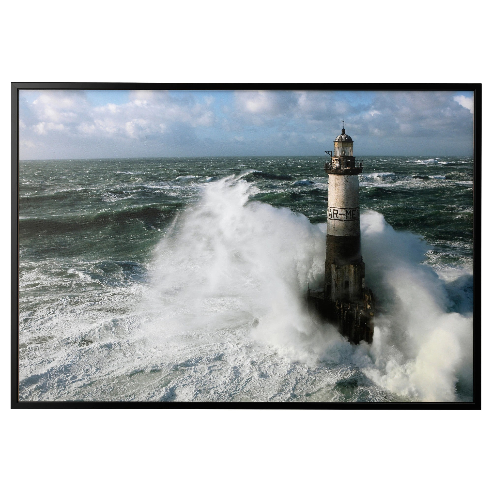 Ar Men BjÖrksta Picture And Frame Ar Men Lighthouse Black
