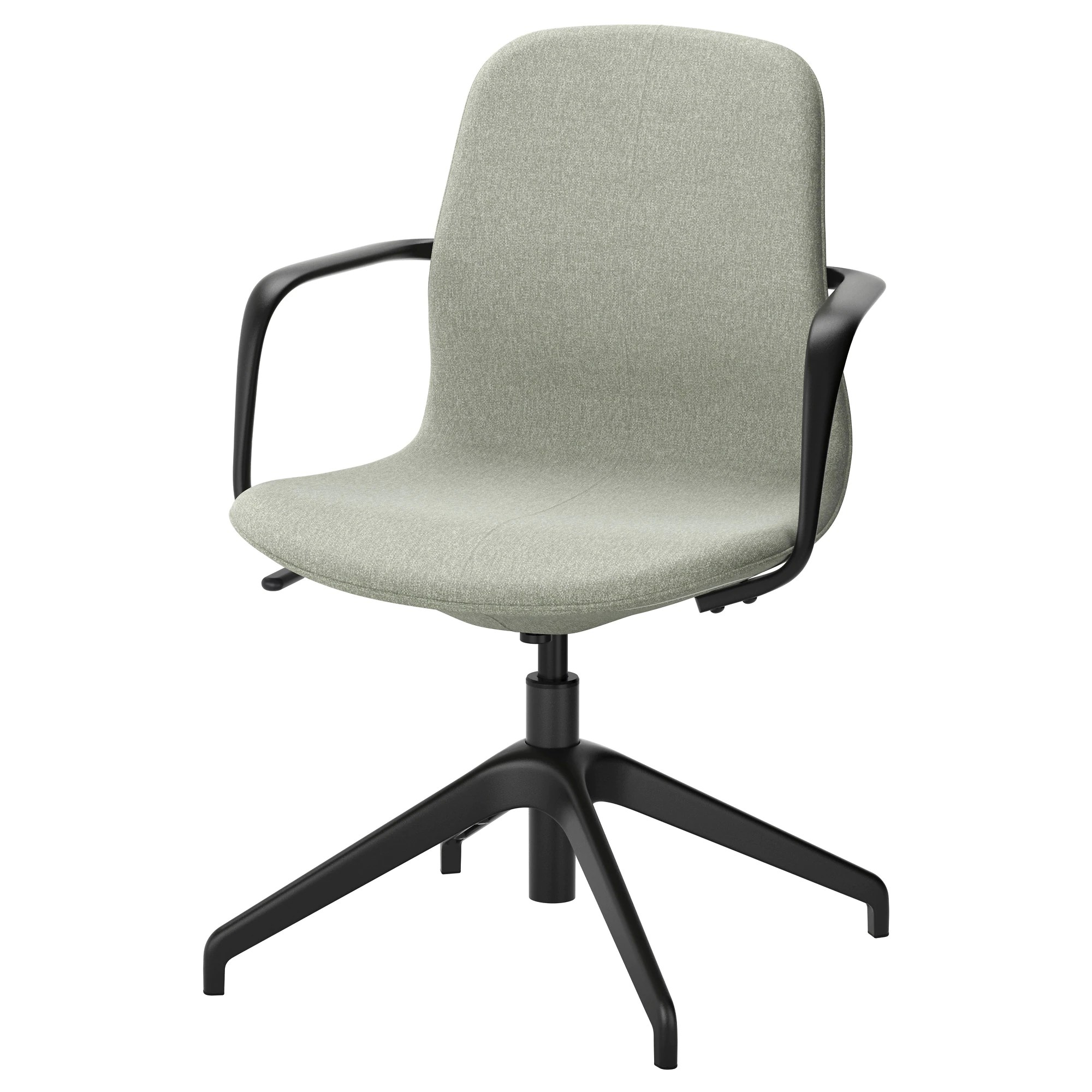 Ikea Küche Kinder Family Card LÅngfjÄll Swivel Chair Gunnared Light Green Black
