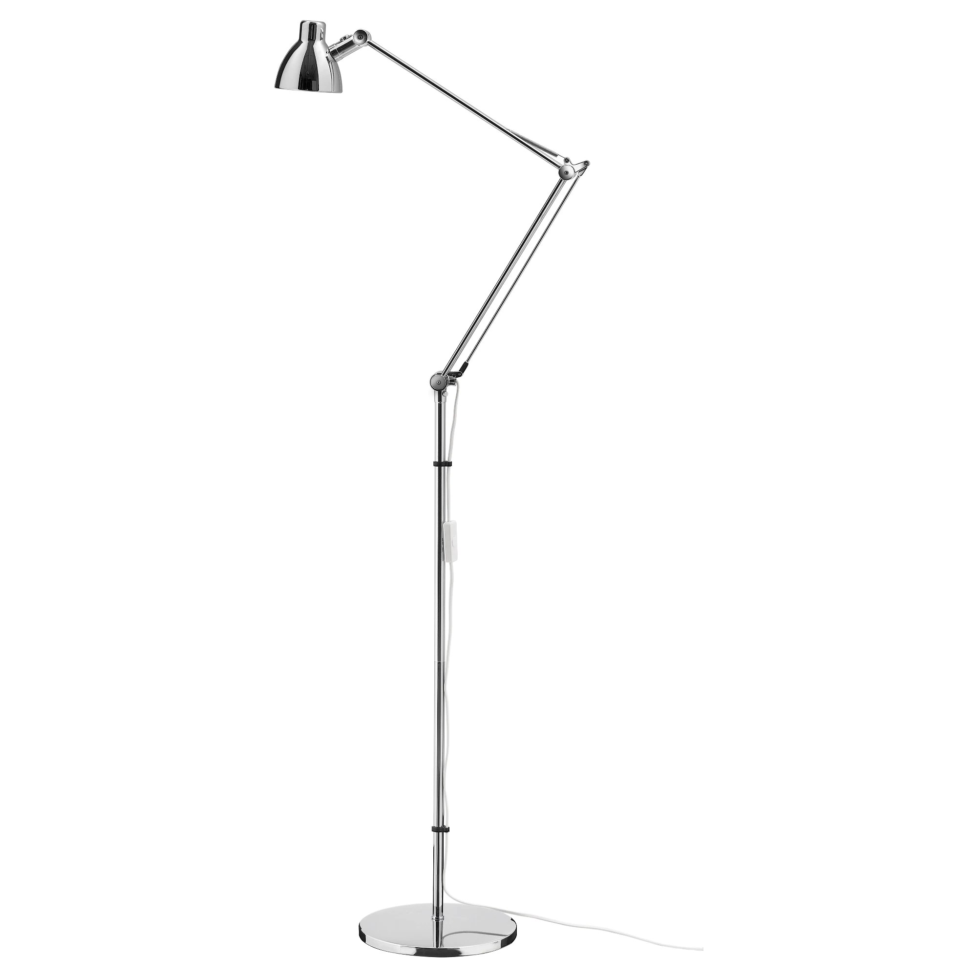 Ikea Reading Lamp Antifoni Floor Reading Lamp Nickel Plated