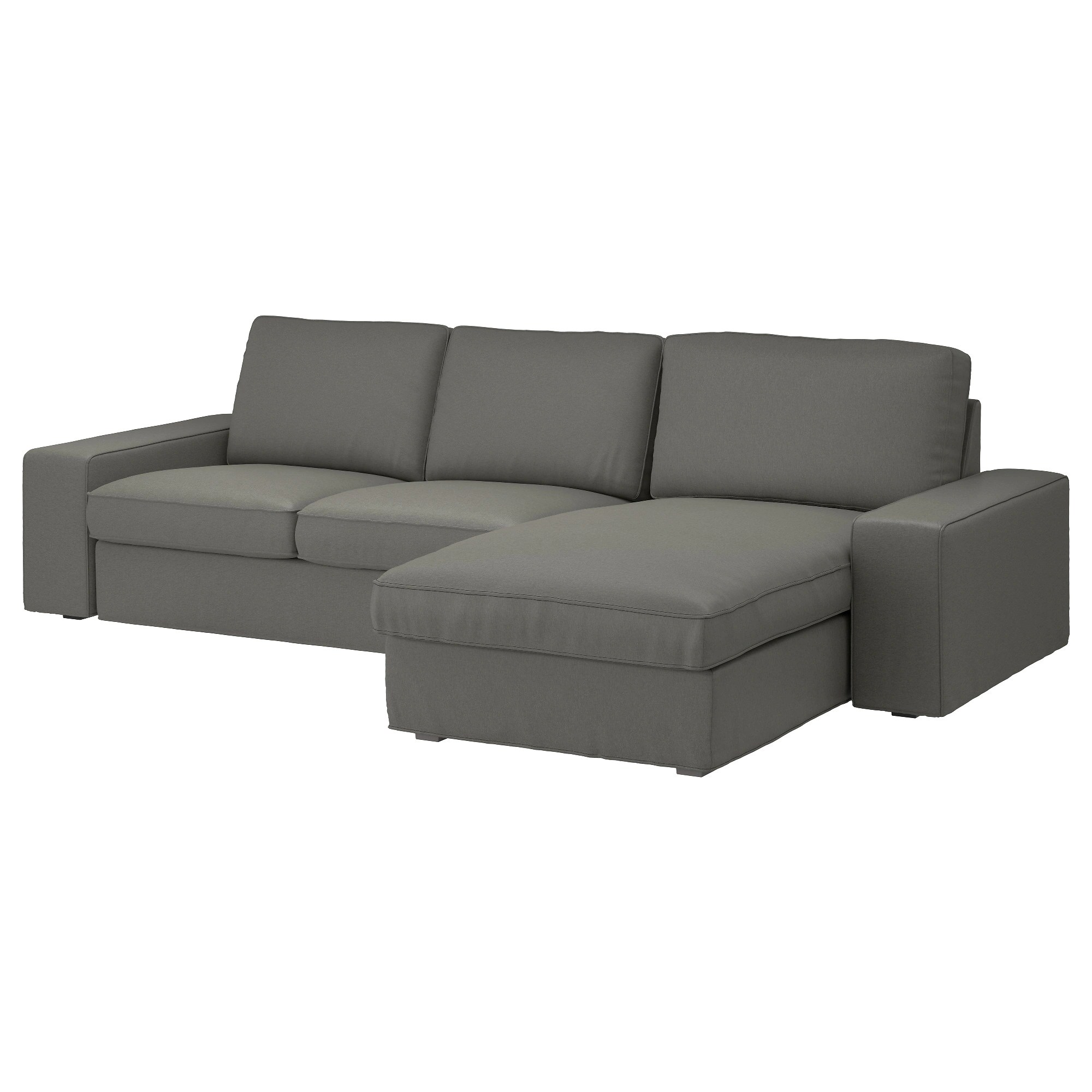 Sofa Ikea Chaise Kivik Sofa With Chaise Orrsta Red