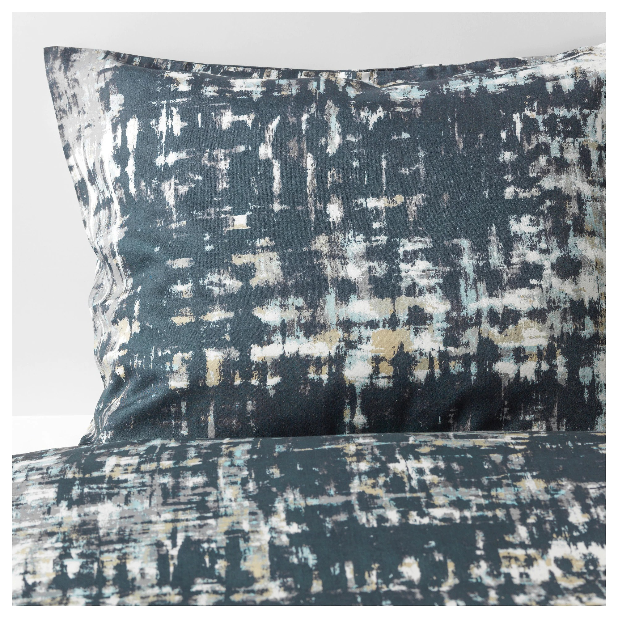 Ikea Duvet Covers SkogslÖnn Duvet Cover And Pillowcase S Black Multicolor