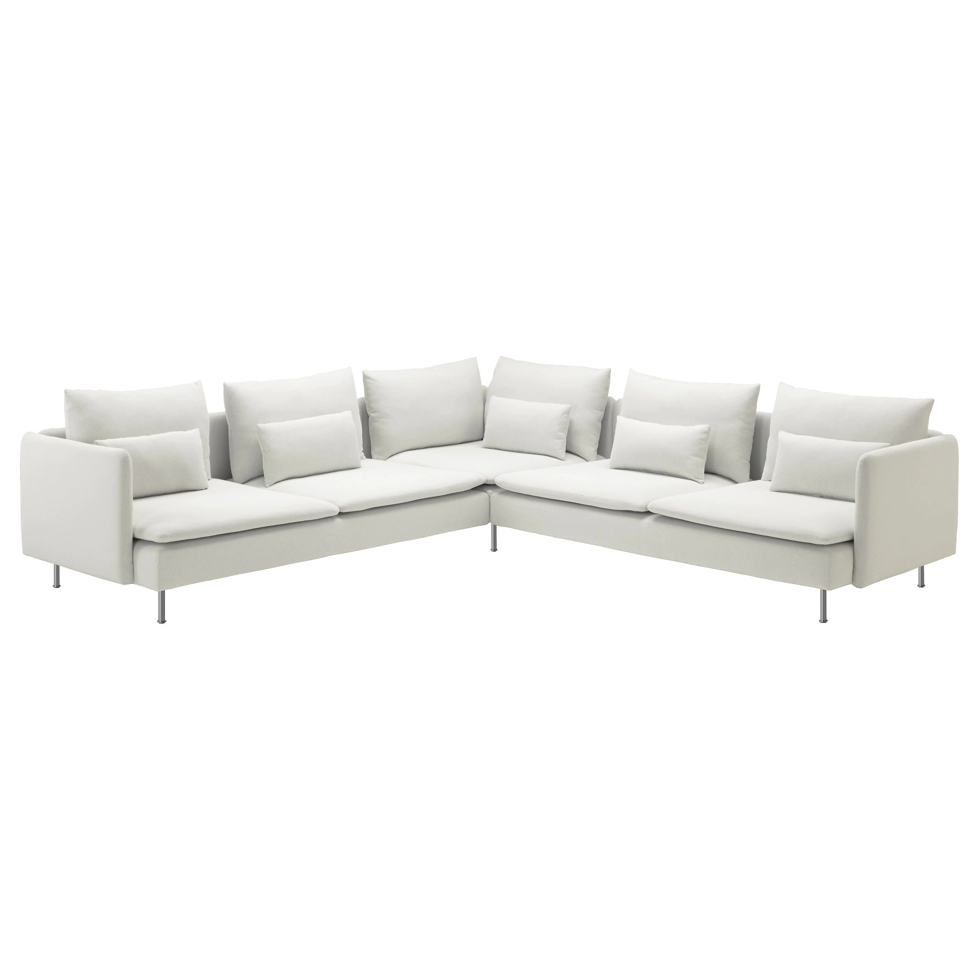 Sectional Corner Couch SÖderhamn Sectional 5 Seat Finnsta White