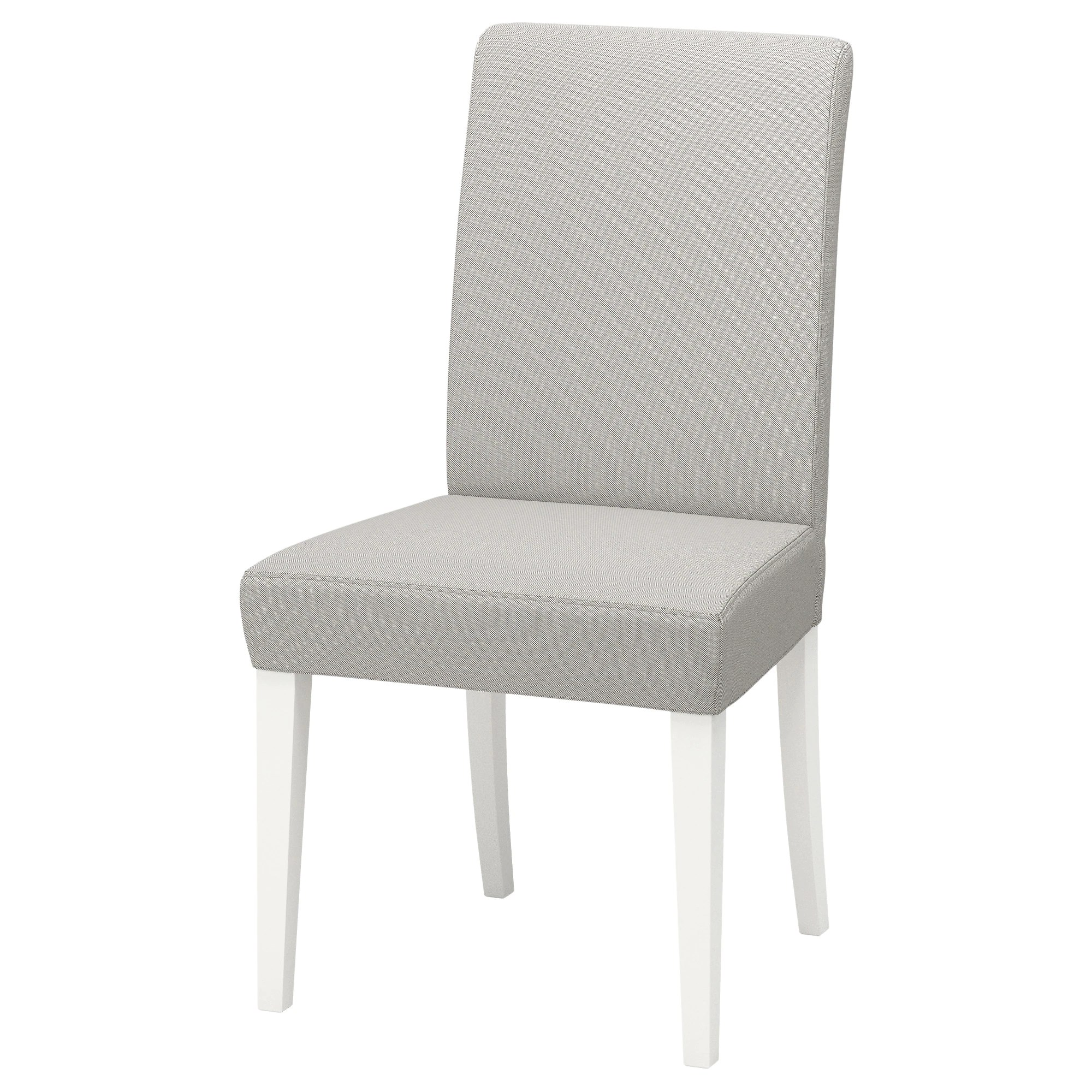 Console Grise Ikea Chair Henriksdal White Orrsta Light Grey
