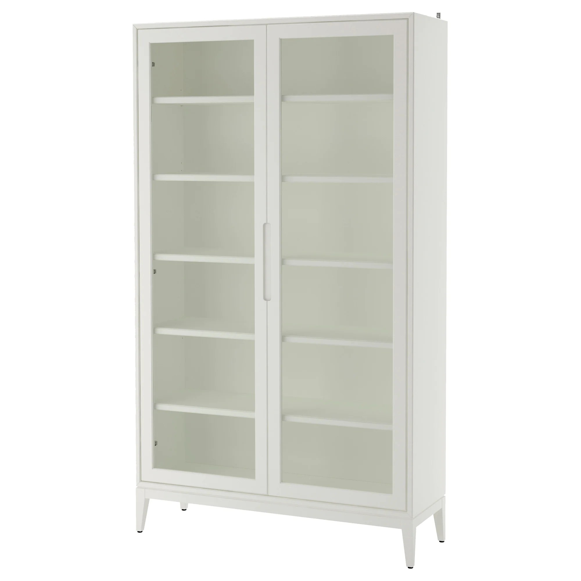 Ikea Storage Cabinets RegissÖr Glass Door Cabinet White