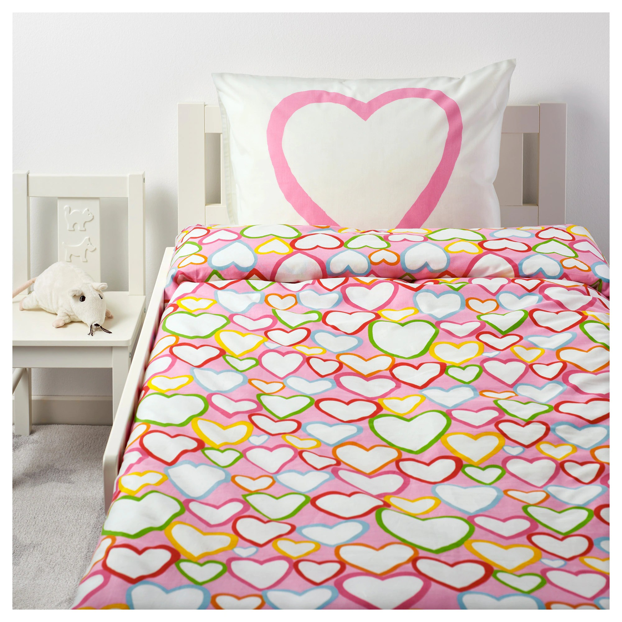 Ikea Duvet Covers Vitaminer HjÄrta Duvet Cover And Pillowcase S Multicolor