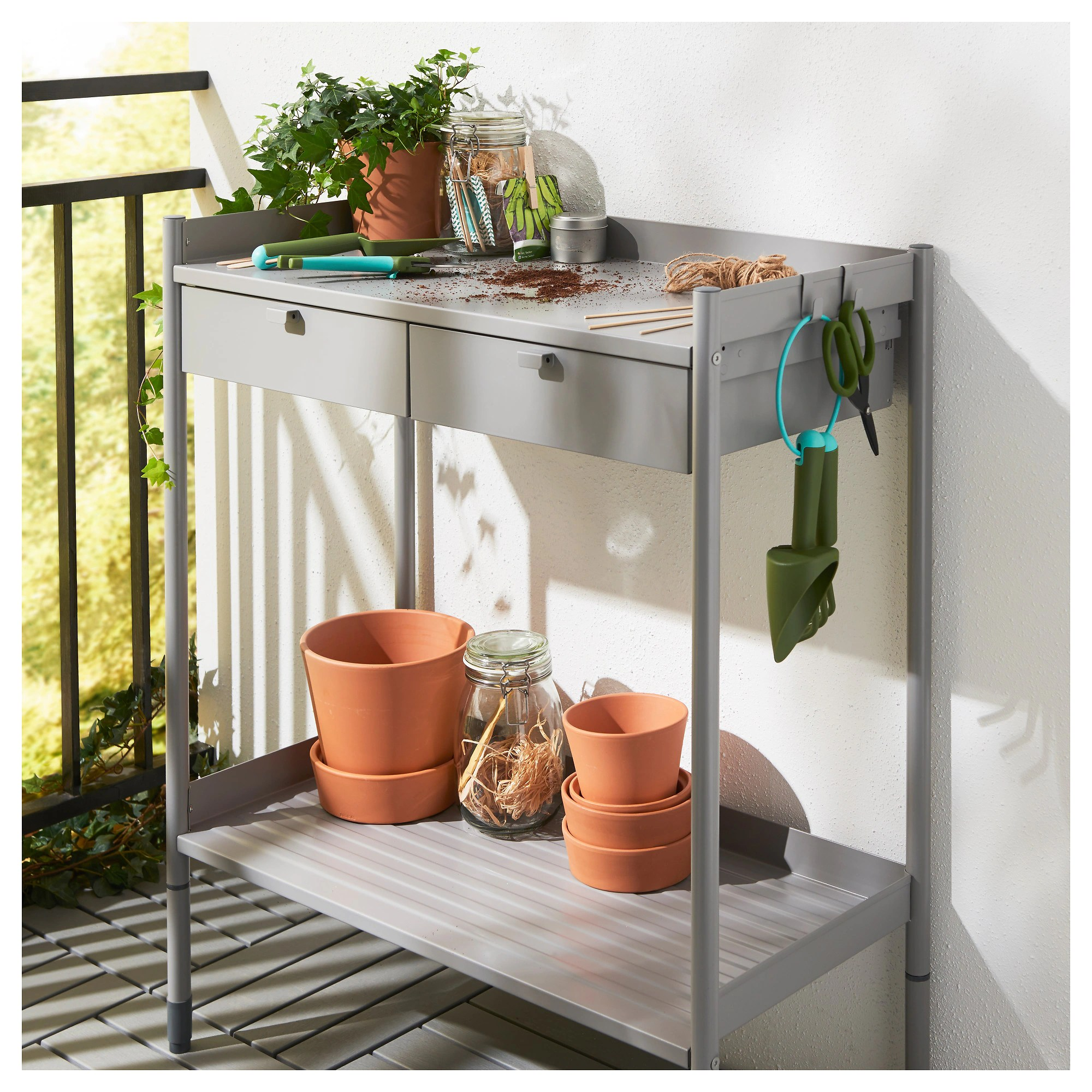 Planting Tables For Sale HindÖ Potting Bench Gray