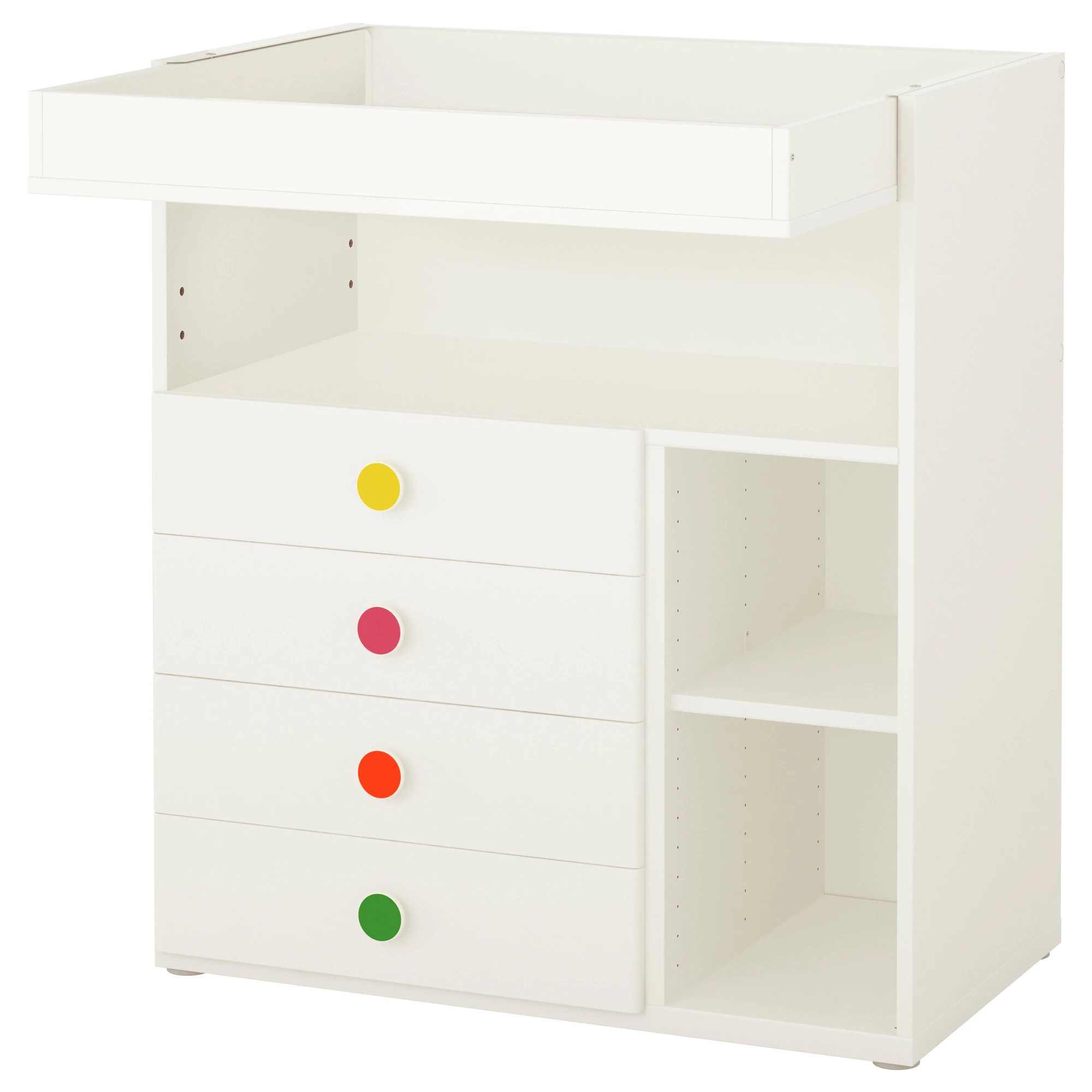 Changing Table Chest Of Drawers Stuva FÖlja Changing Table With 4 Drawers White
