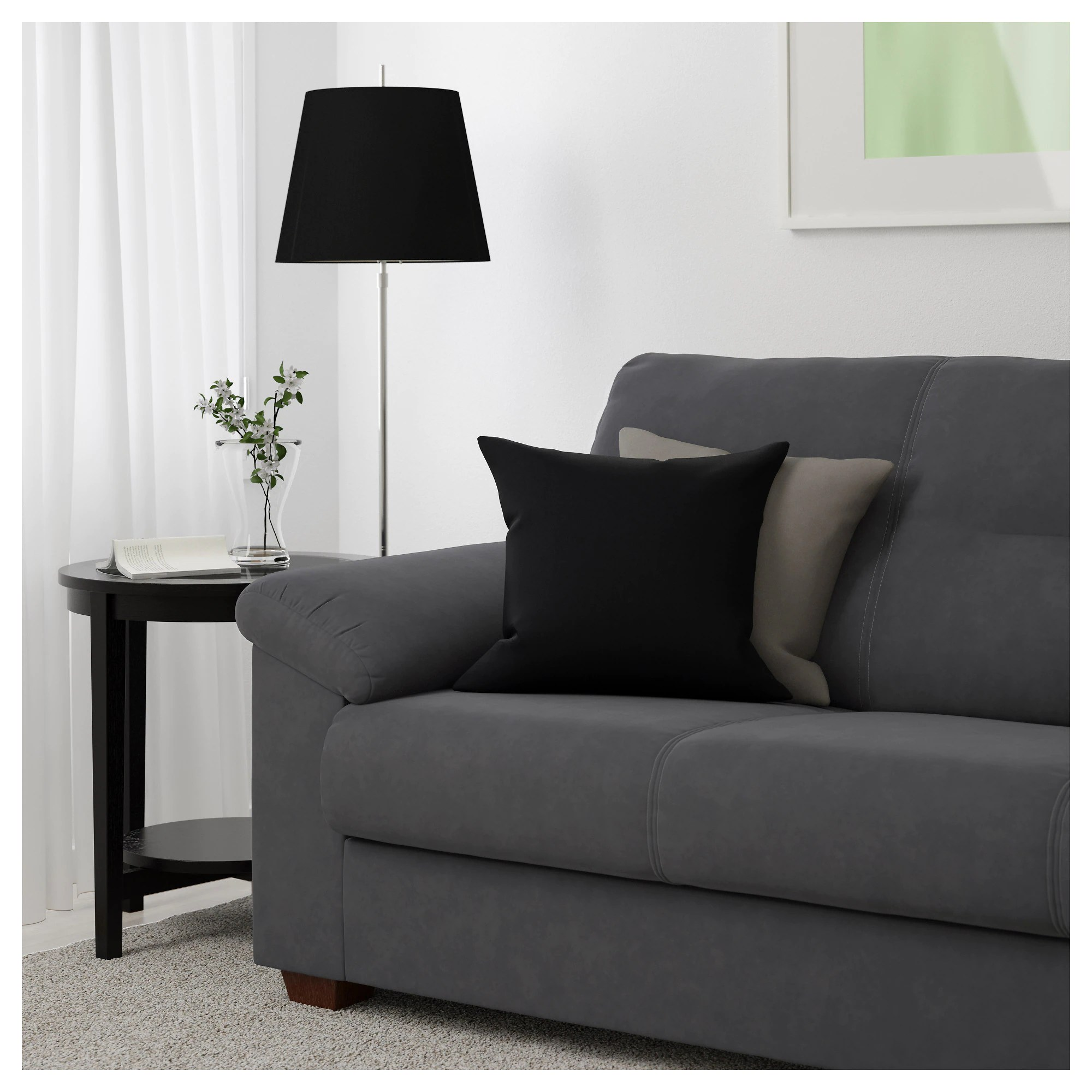 Sofa Repair Charlotte Nc Knislinge Sofa Samsta Dark Brown