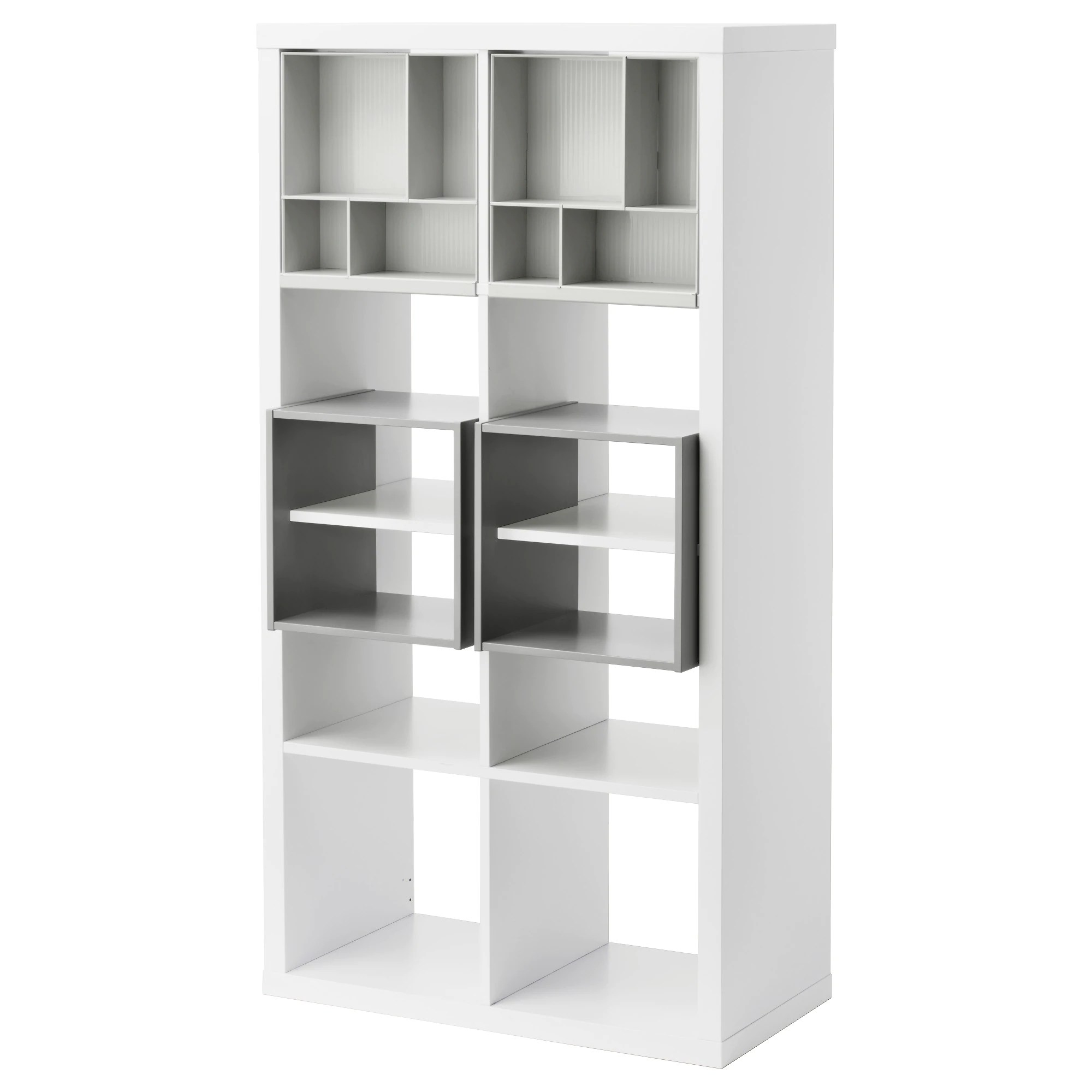 Ikea Kallax Kallax Shelf Unit With 4 Inserts White