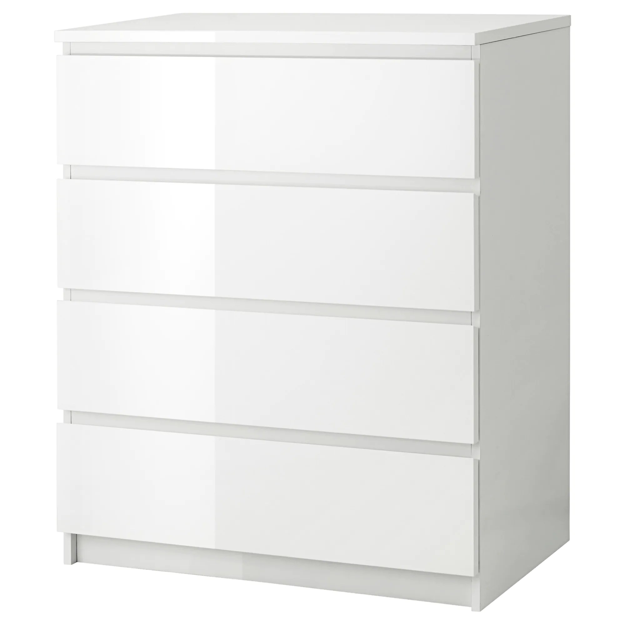 Ikea Commode Blanche Malm Commode 4 Tiroirs Blanc