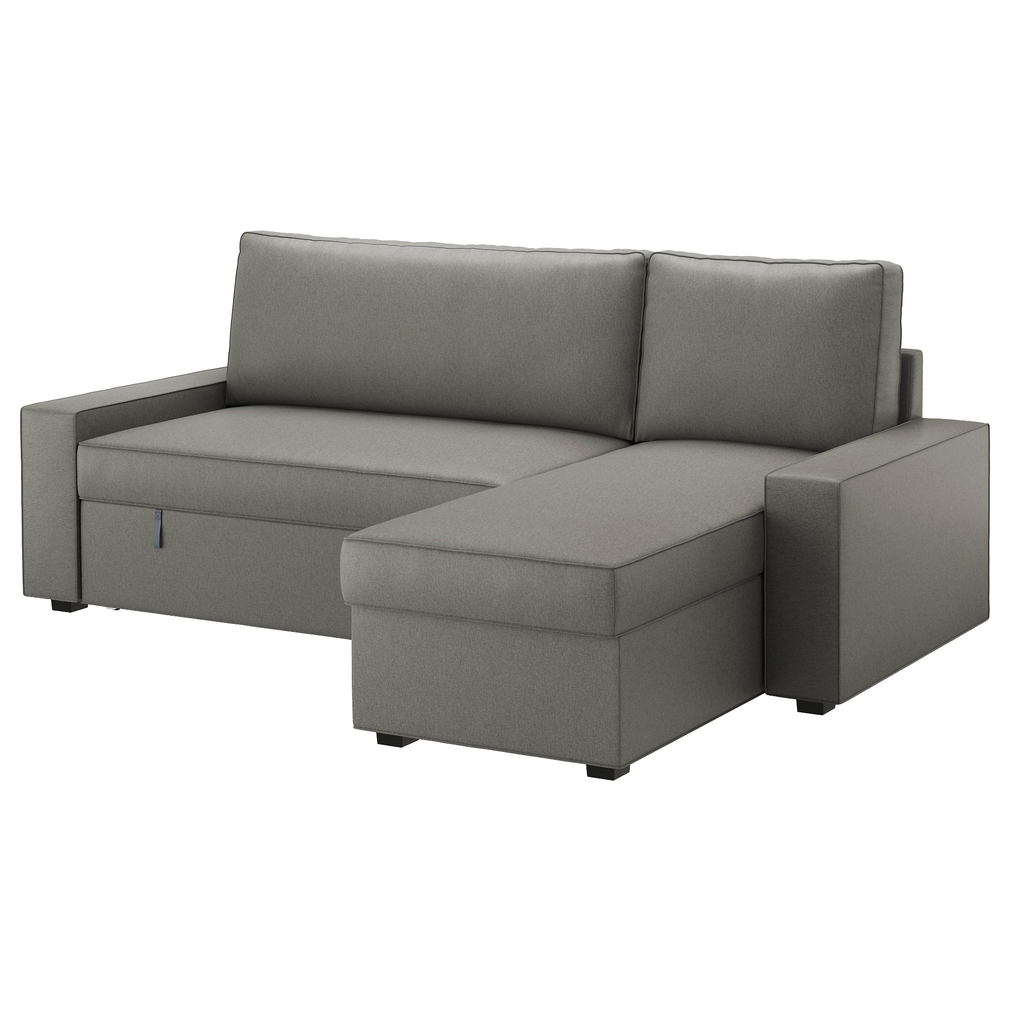 Chaise Grise Ikea Sofa Bed With Chaise Longue Vilasund Borred Grey Green