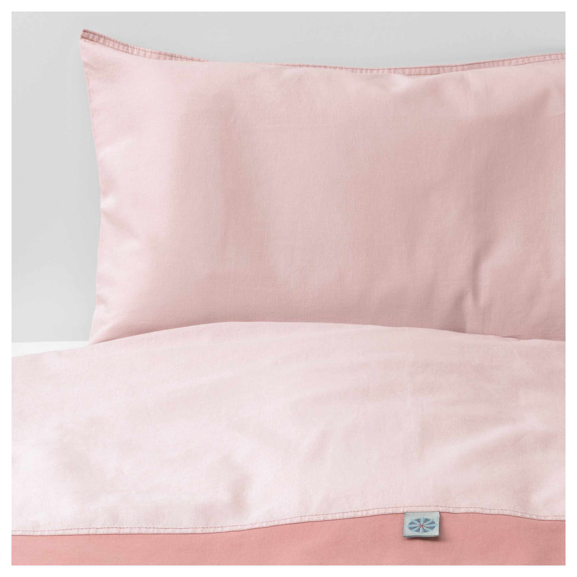 Easy Baby Bettwäsche Tillgiven Crib Duvet Cover Pillowcase Pink