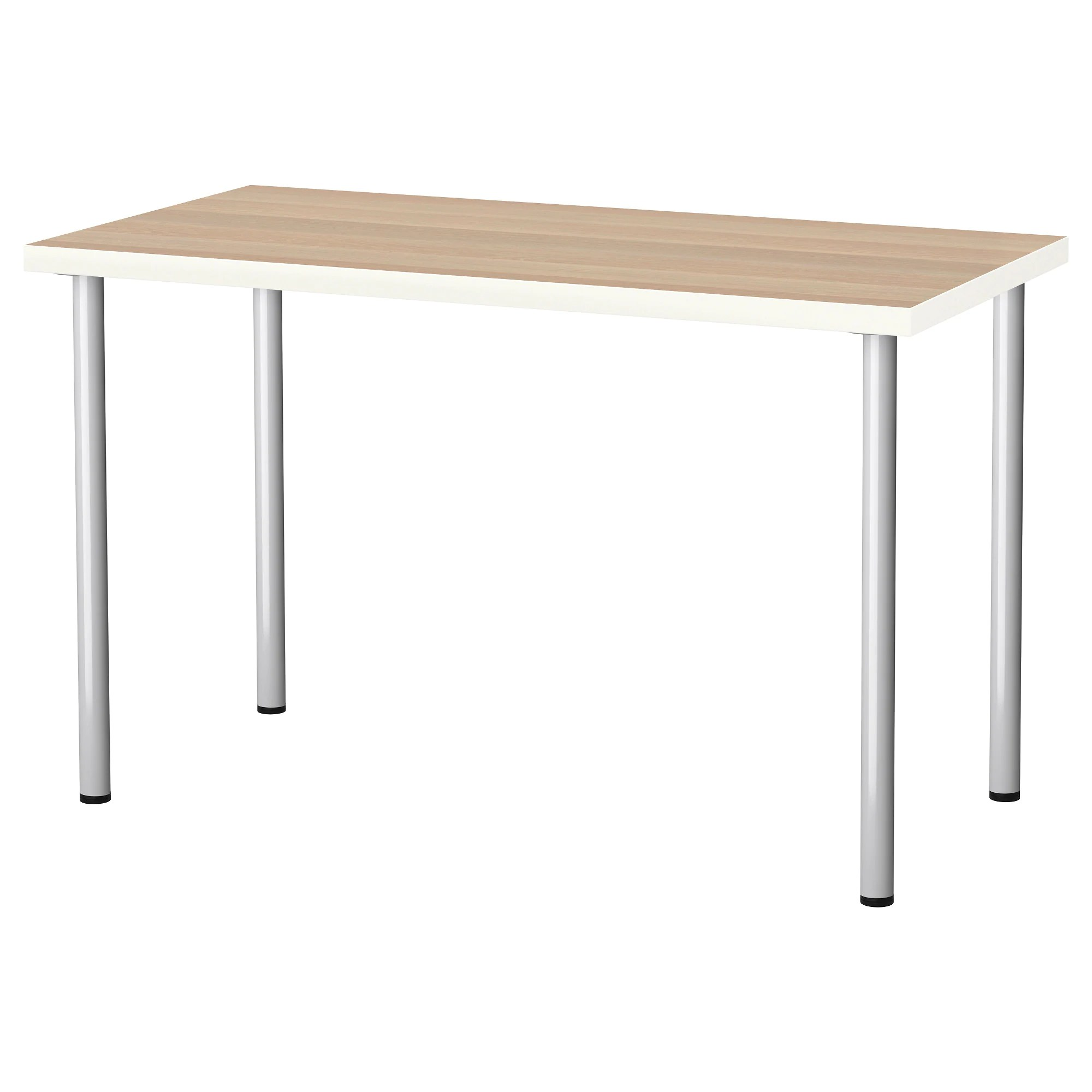 Ikea Table Linnmon Adils Table Black Brown Black
