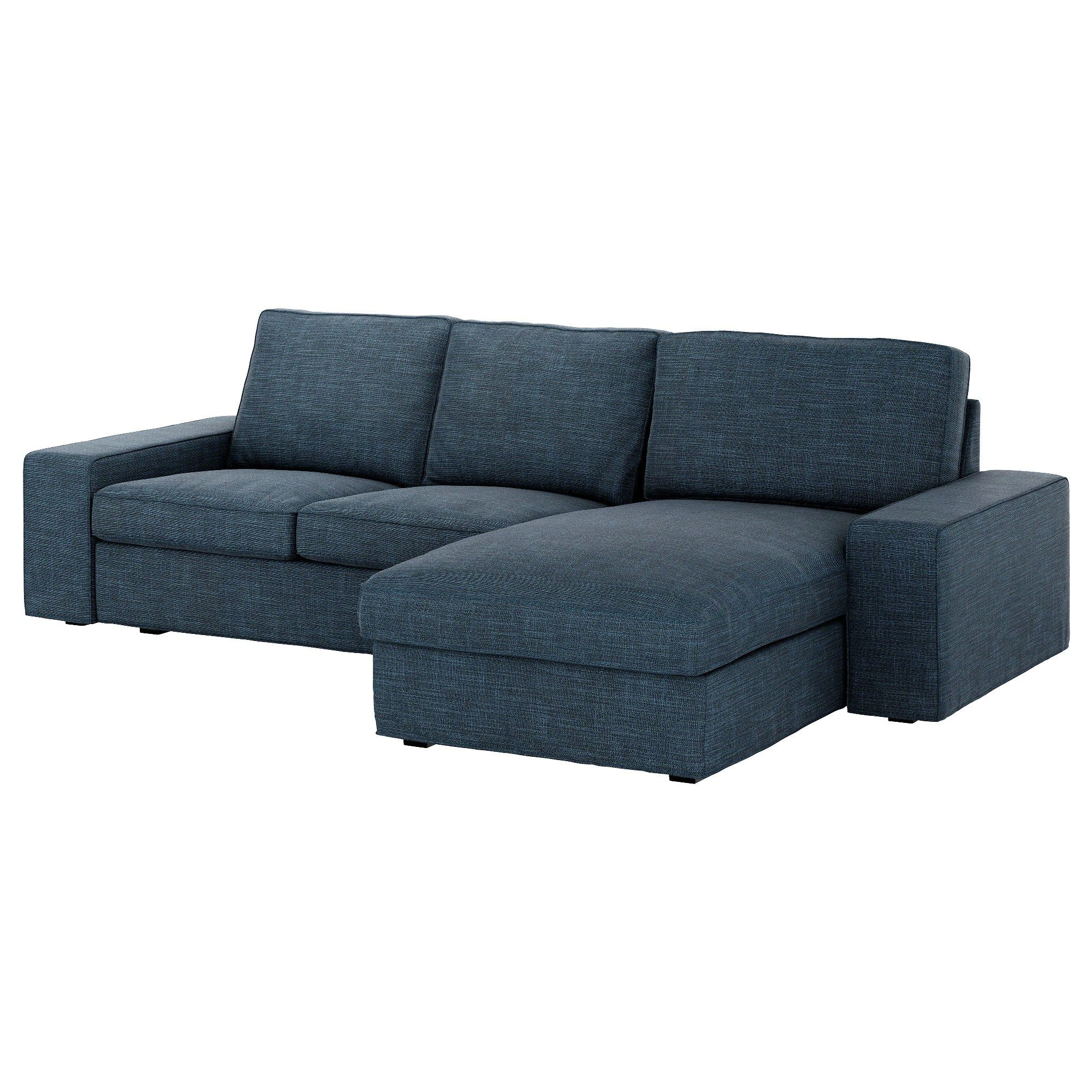 Ikea Kivik Sofa Kivik Sofa Hillared With Chaise Hillared Dark Blue