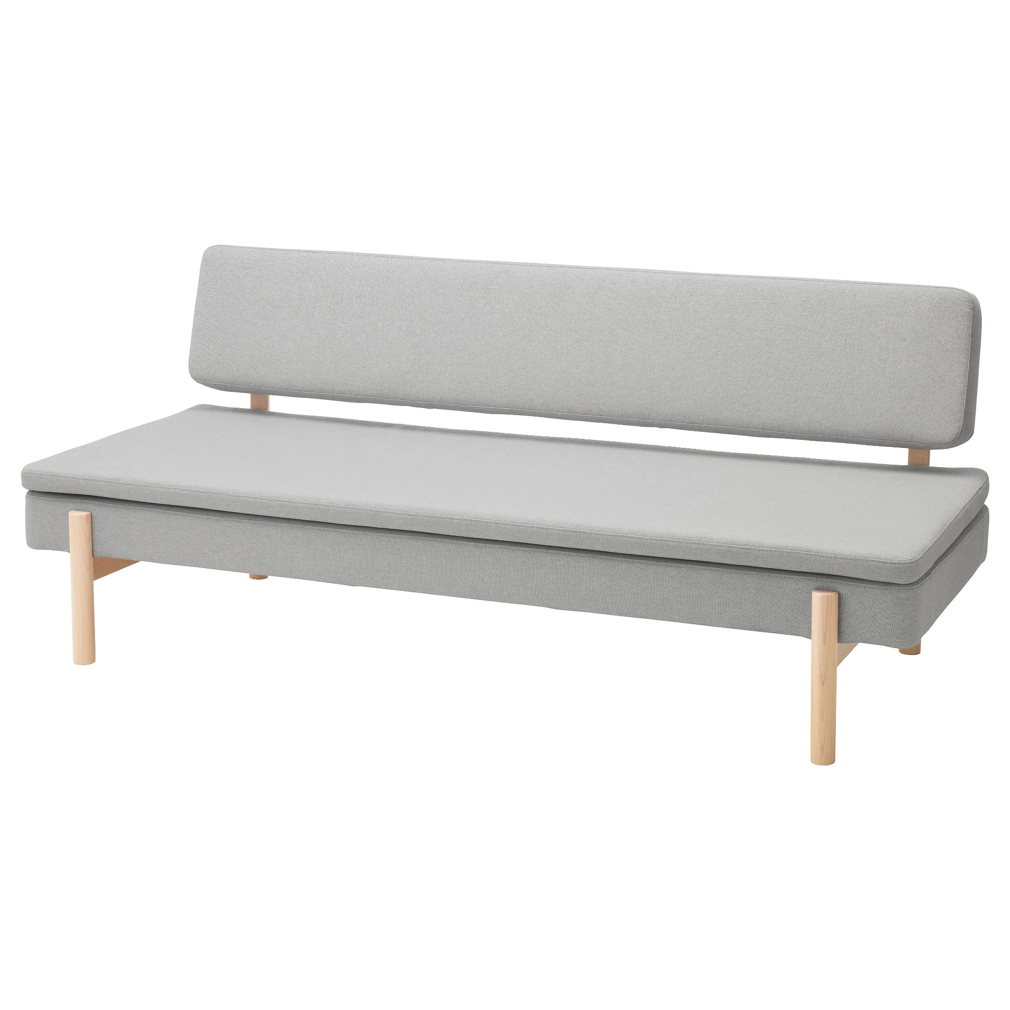 Klassische Sofas You Can Assemble Ypperlig 3 Seat Sleeper Sofa Orrsta Light Gray