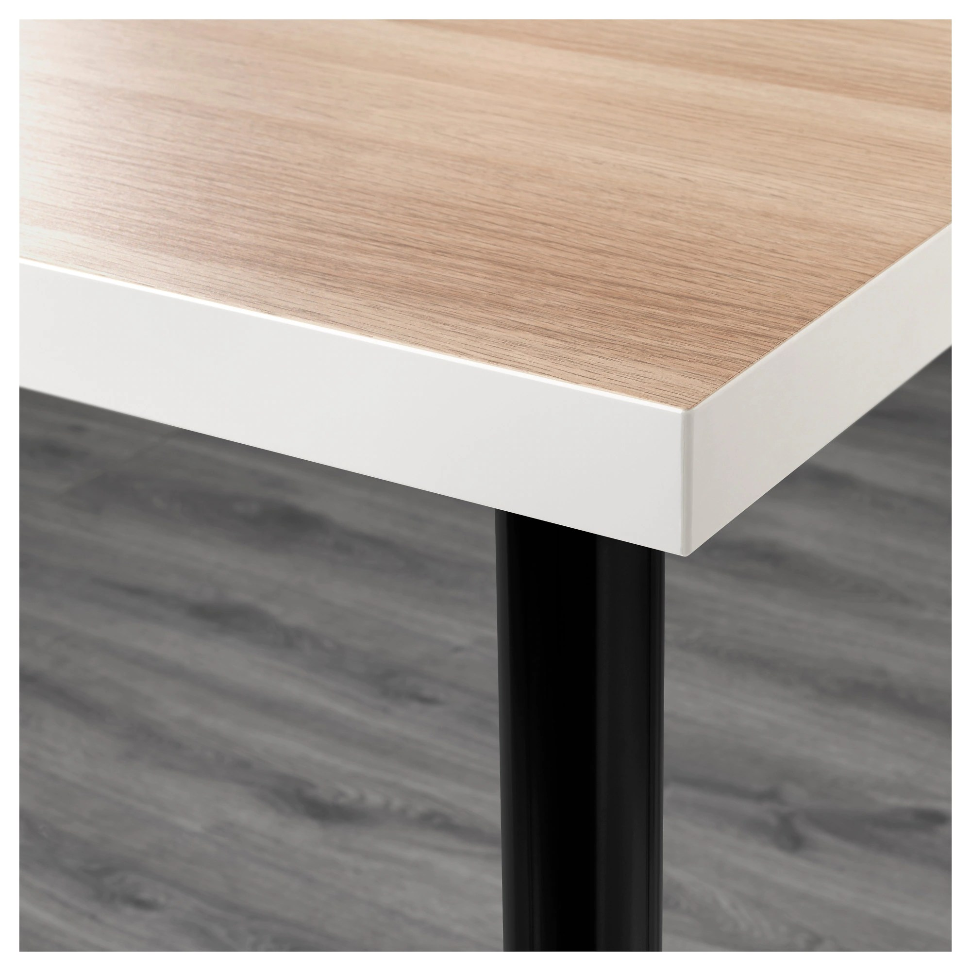 Linnmon Linnmon Adils Table Black Brown Black