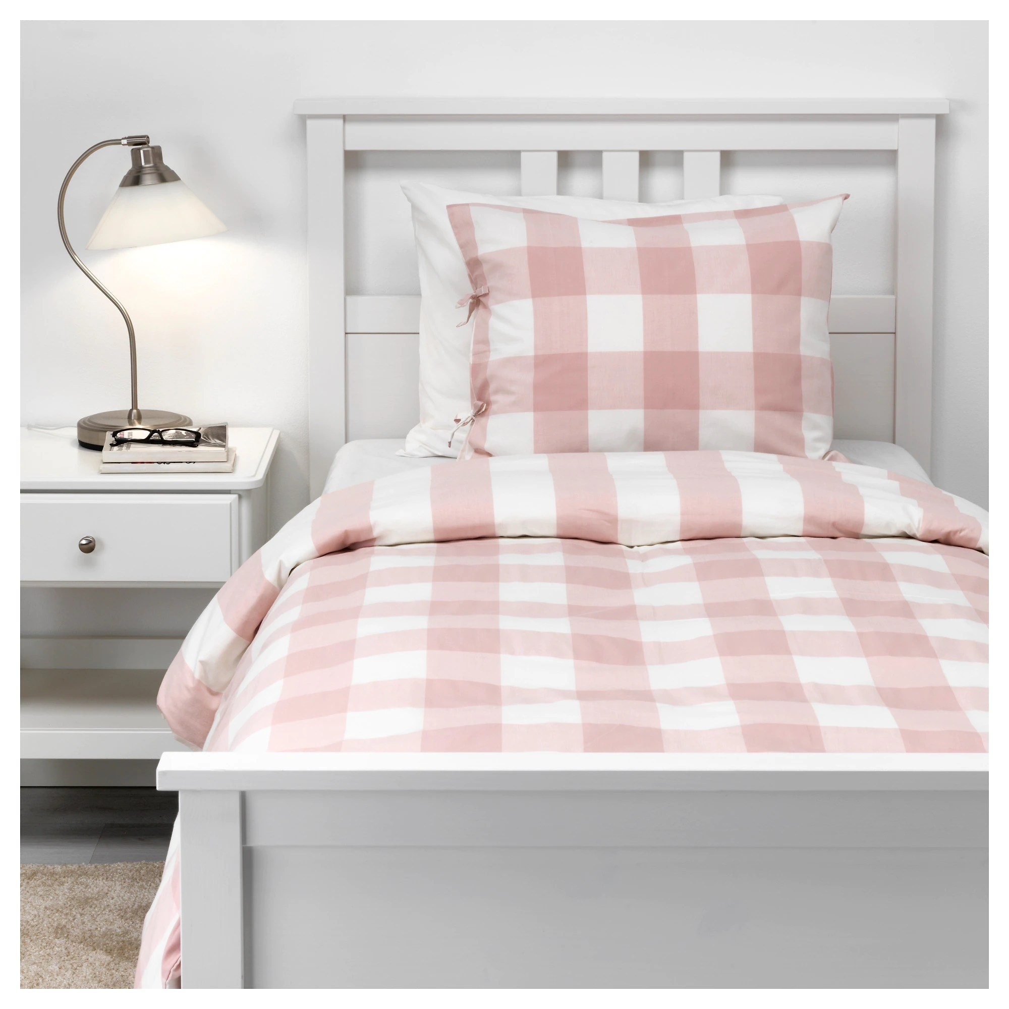 Pink Duvet Cover Emmie Ruta Duvet Cover And Pillowcase S Light Pink White