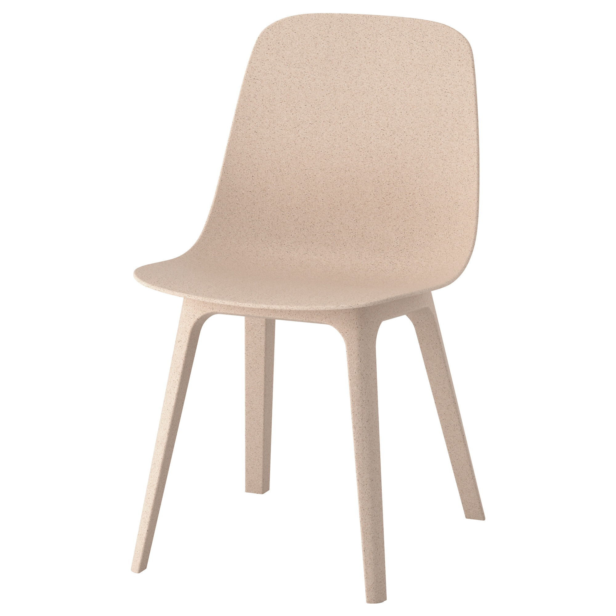 Chaise Ikea Plastique Odger Chaise Blanc Beige