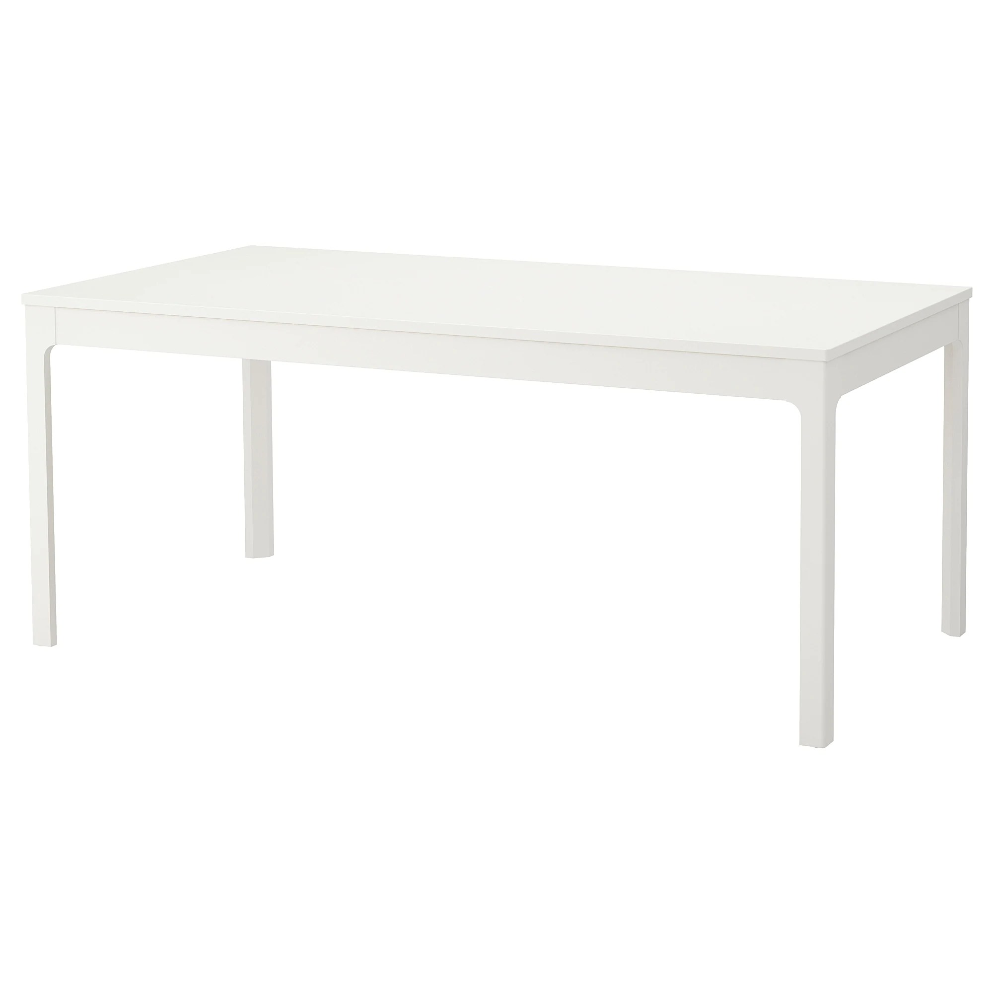 Table Ikea Blanche Ekedalen Extendable Table White