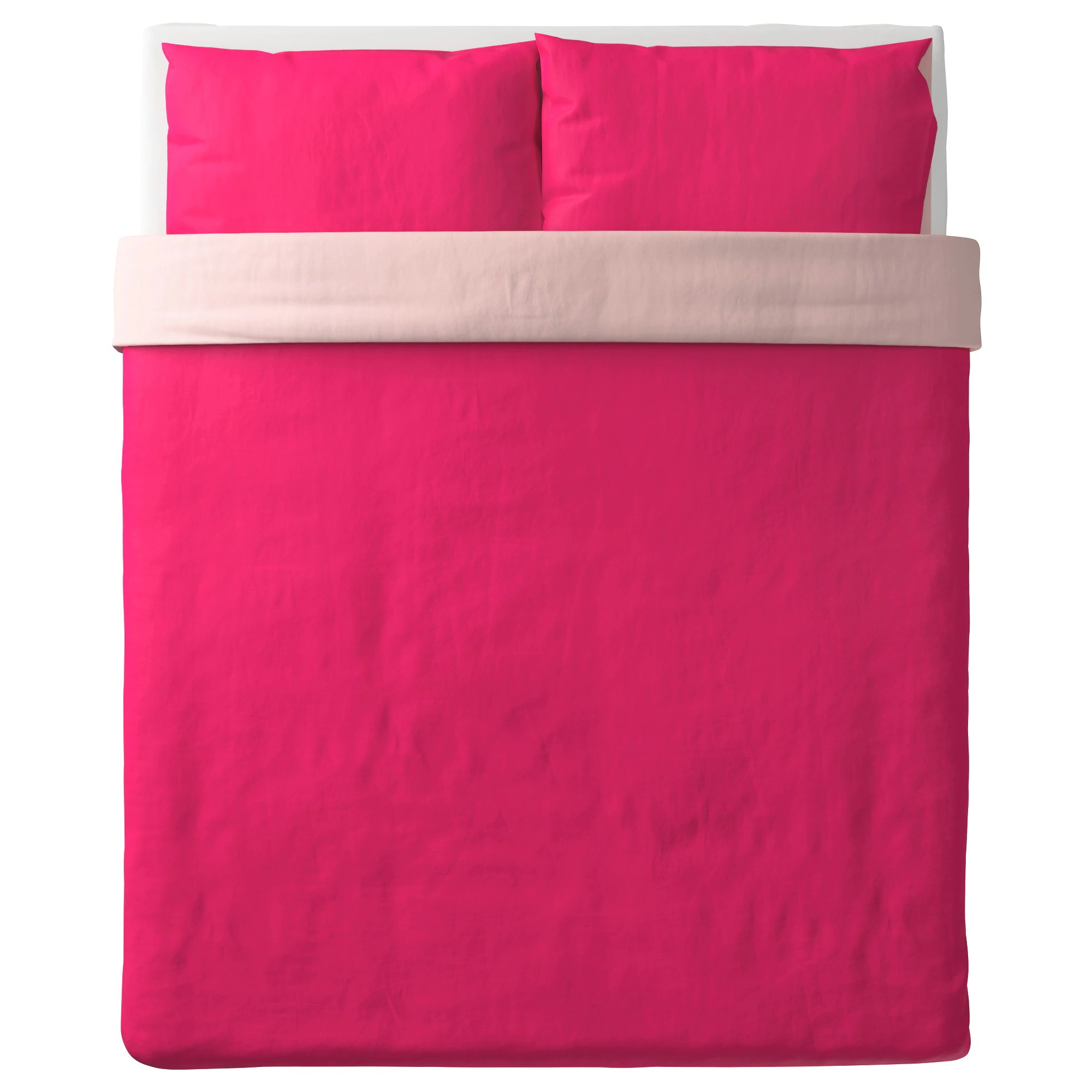 Pink Duvet Cover Dvala Duvet Cover And Pillowcase S Pink