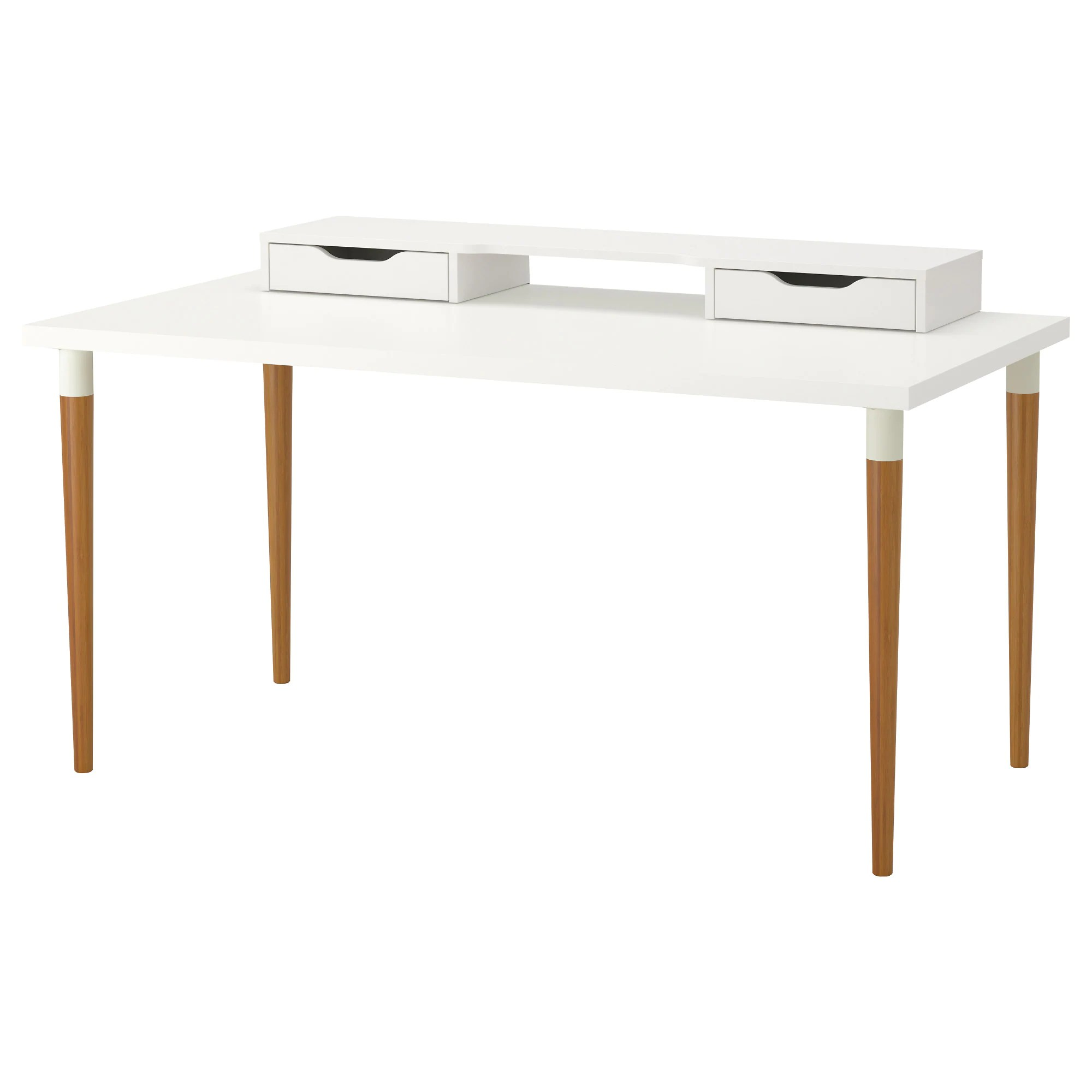 Linnmon Linnmon Hilver Table White Bamboo