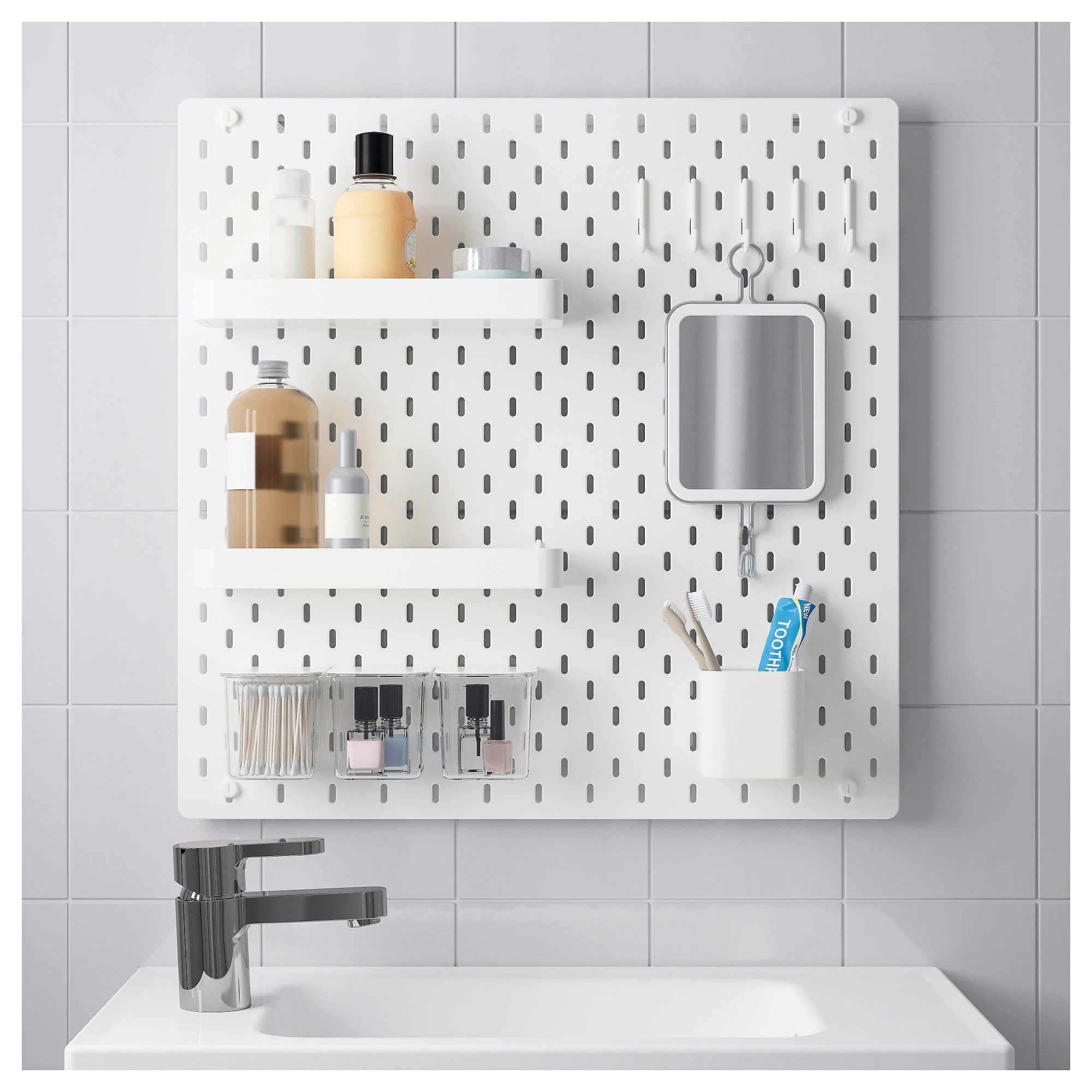Peg Board Canada SkÅdis Pegboard Combination White