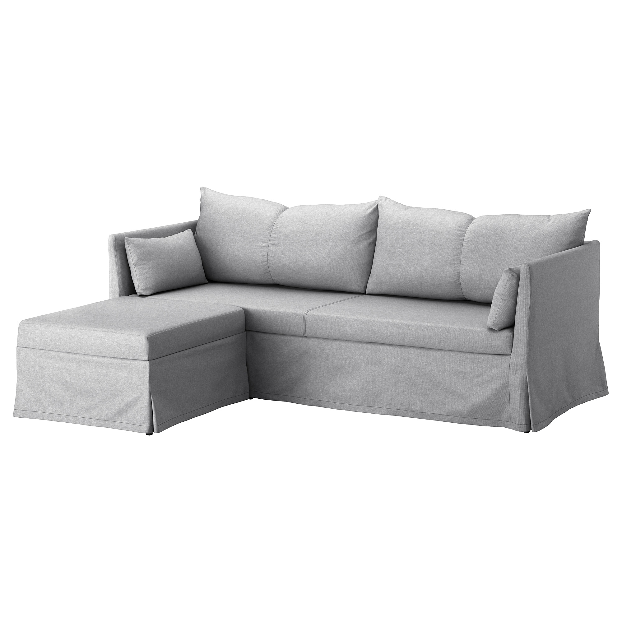 Sofa Cushions That Don't Go Flat Sandbacken Sleeper Sectional 3 Seat Lofallet Beige